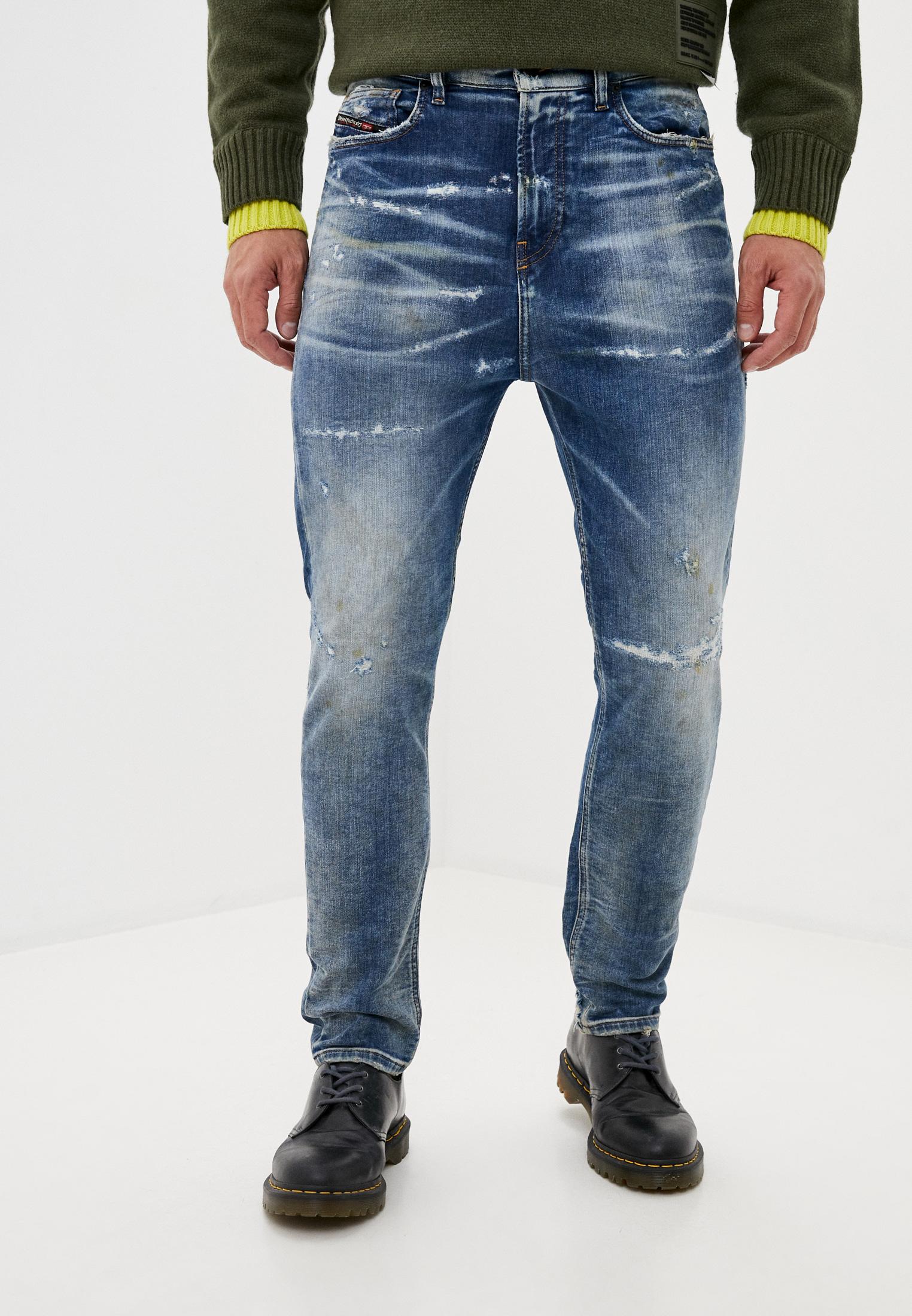 Мужские зауженные джинсы Diesel (Дизель) 00SSTD0870Q