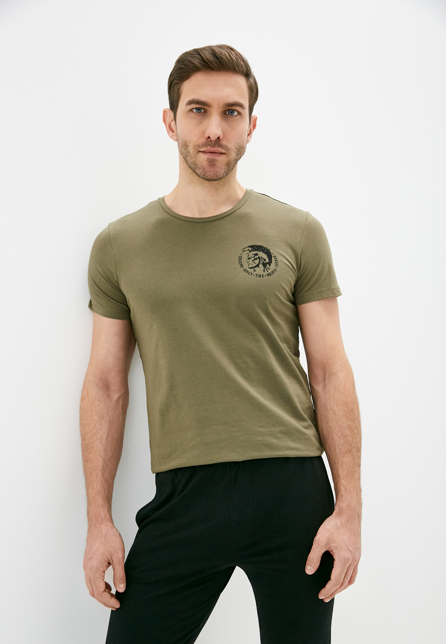 Домашняя футболка Diesel (Дизель) 00SJ5L0TANL: изображение 2