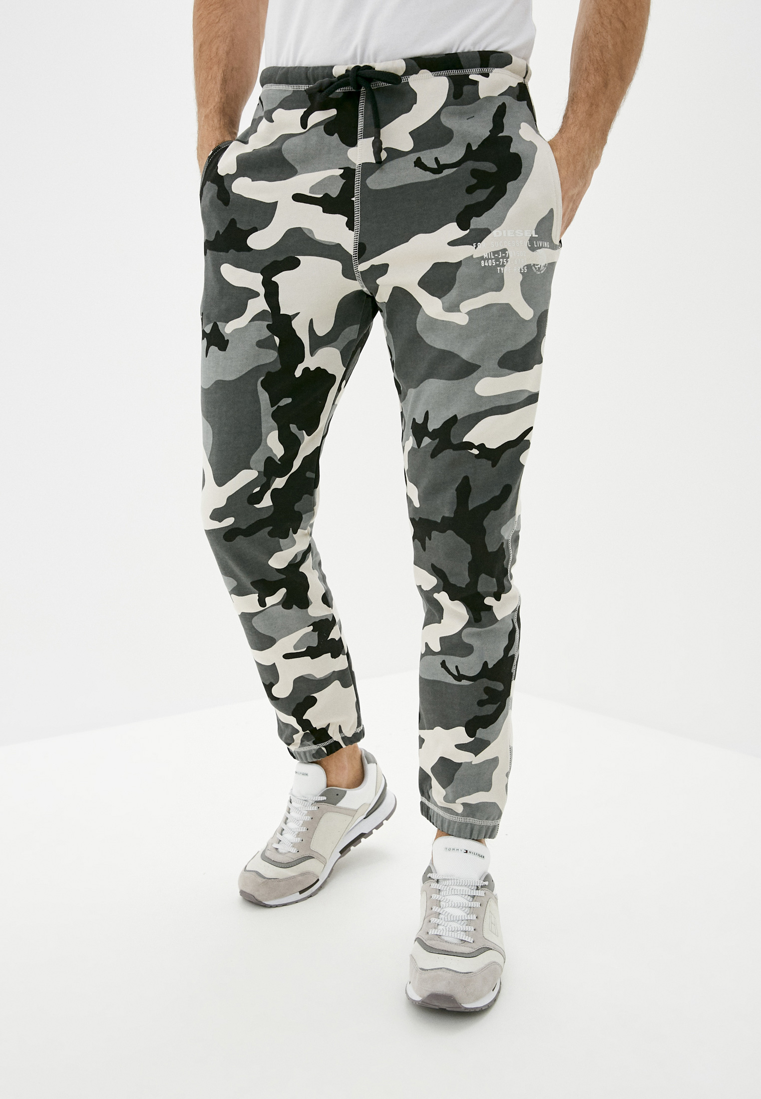Мужские спортивные брюки Diesel (Дизель) 00ST1N0ICAT