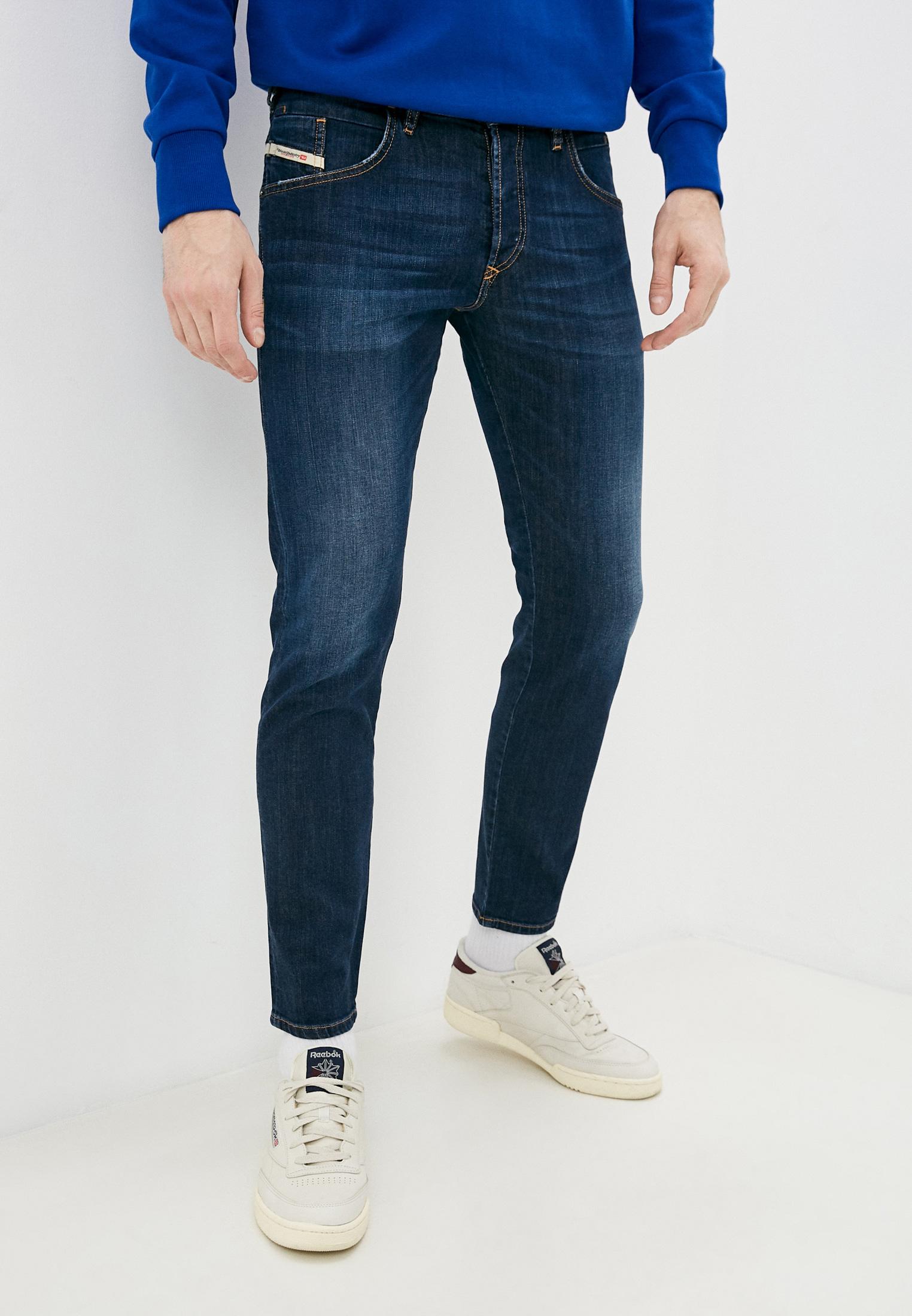 Мужские зауженные джинсы Diesel (Дизель) 00SSLL082AY
