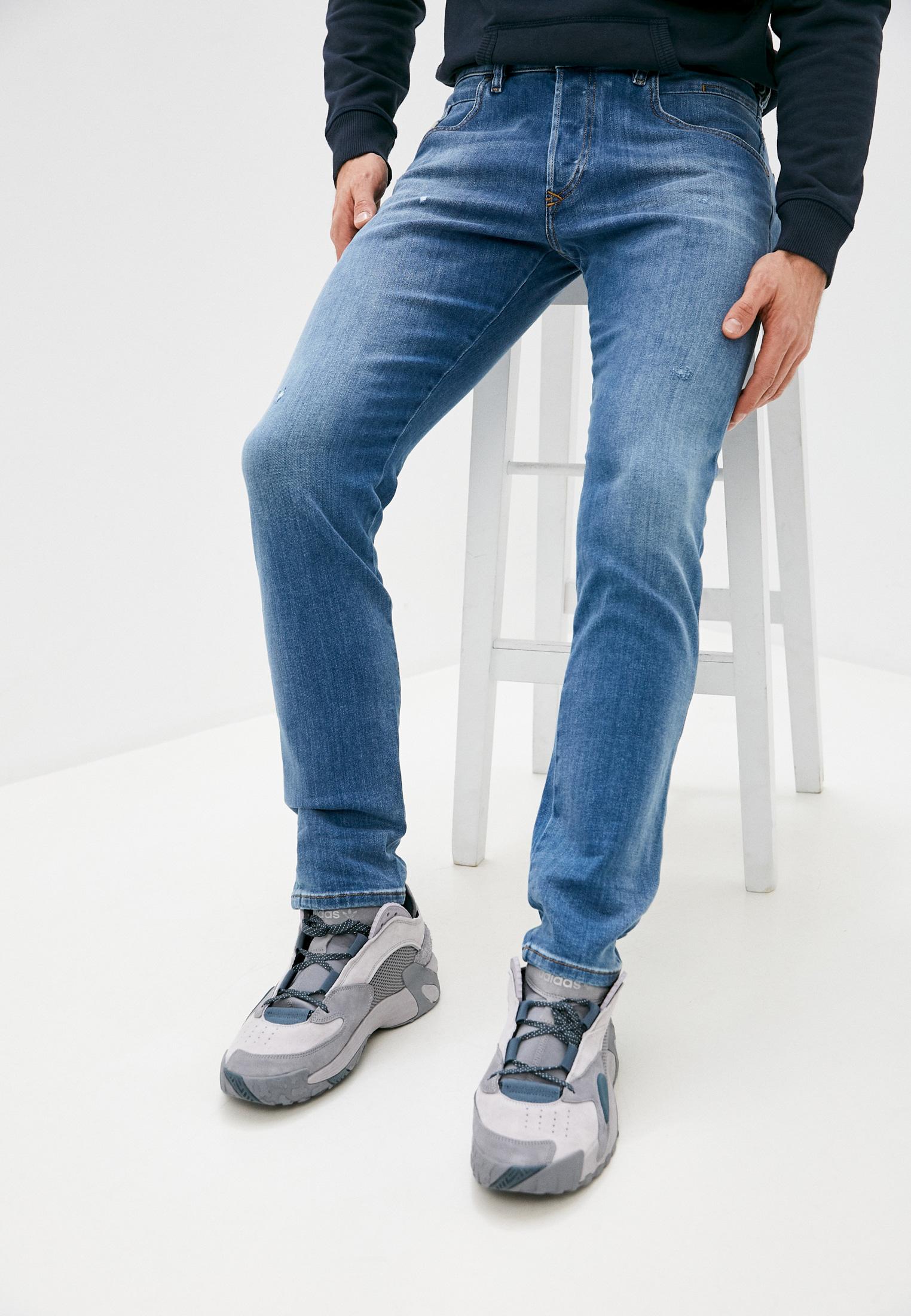 Мужские прямые джинсы Diesel (Дизель) 00SSLL083AX
