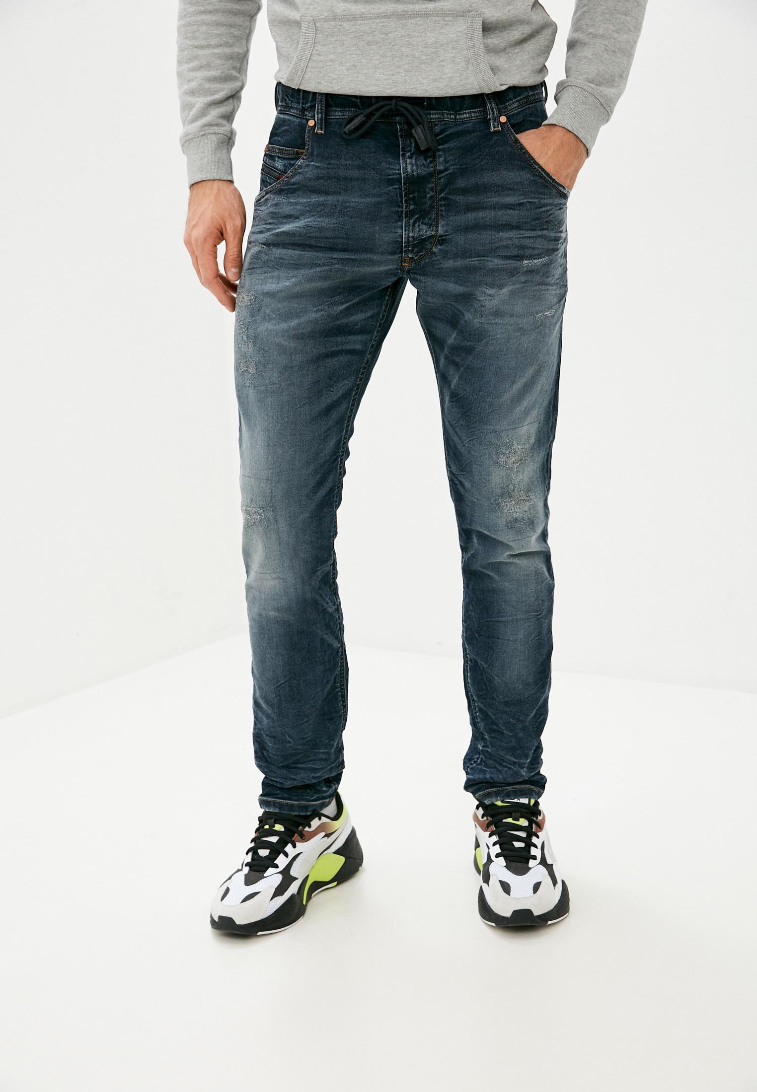 Мужские прямые джинсы Diesel (Дизель) 00S6DD069BC