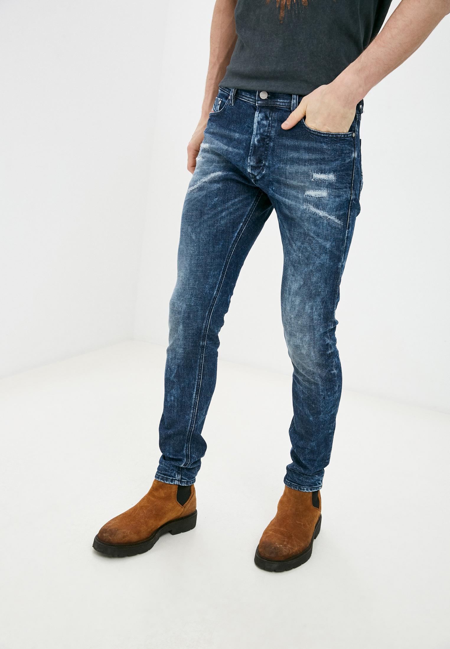 Зауженные джинсы Diesel (Дизель) 00CKRI084ZX