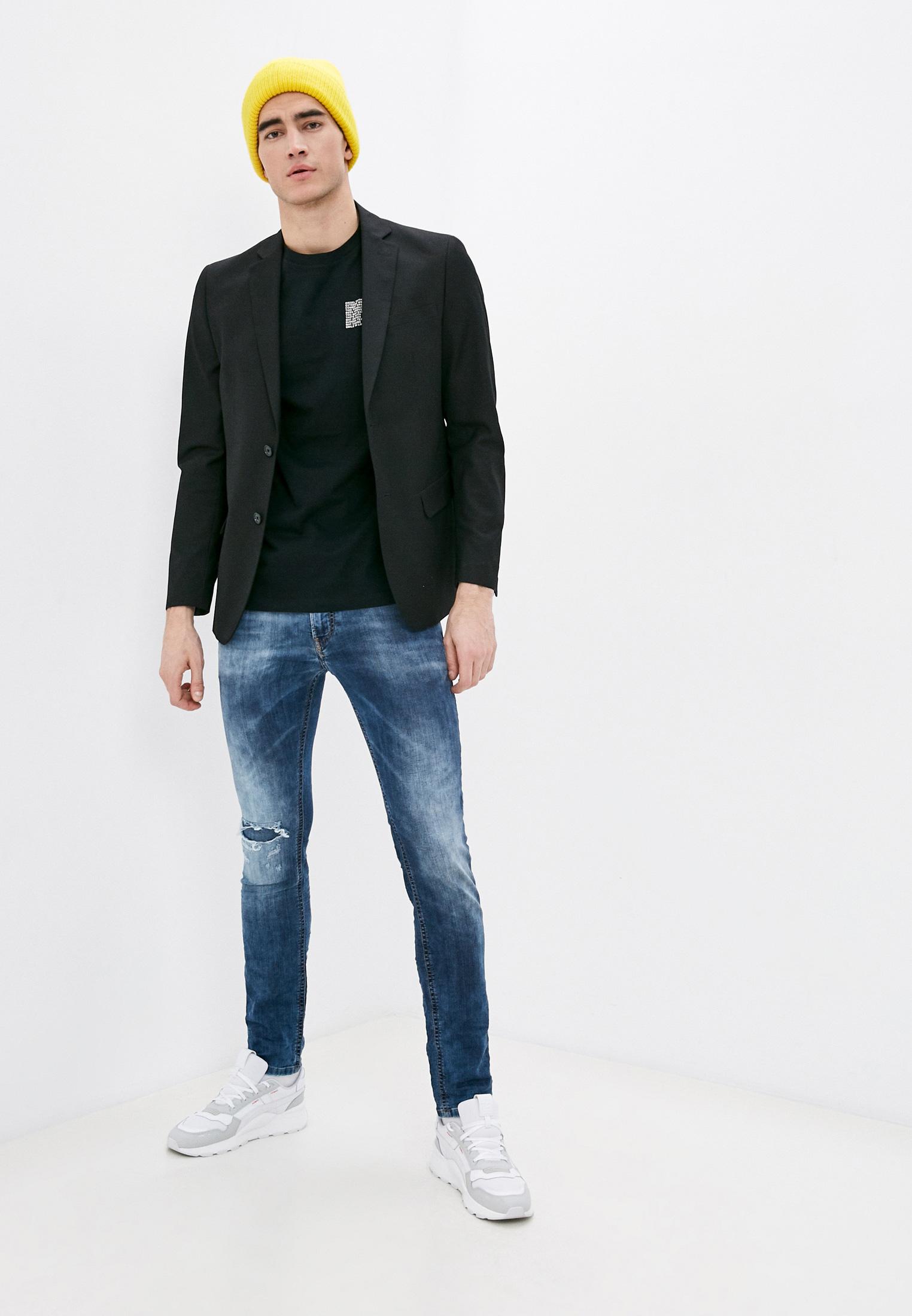 Мужские зауженные джинсы Diesel (Дизель) 00S8MK069AA: изображение 2