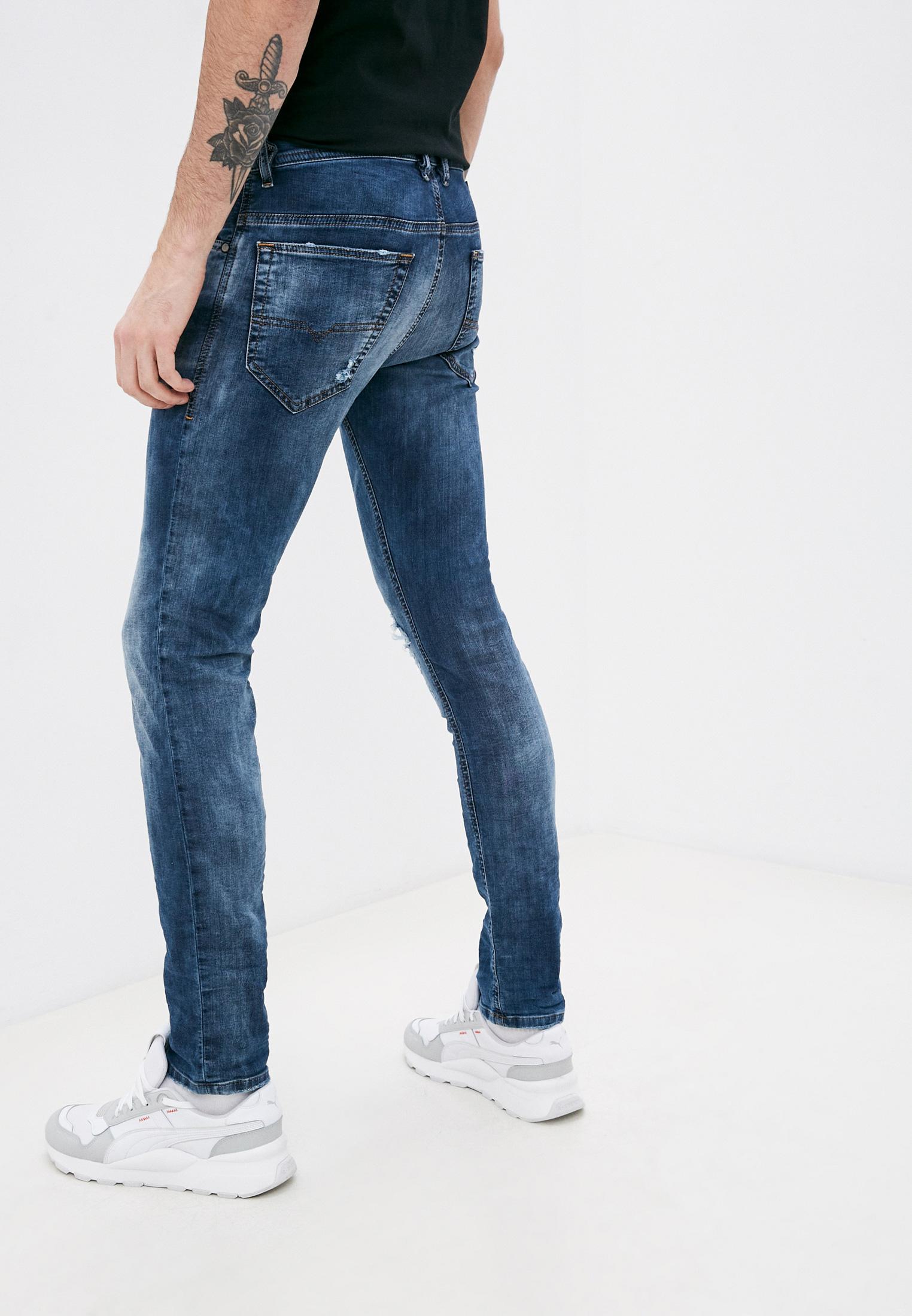 Мужские зауженные джинсы Diesel (Дизель) 00S8MK069AA: изображение 3