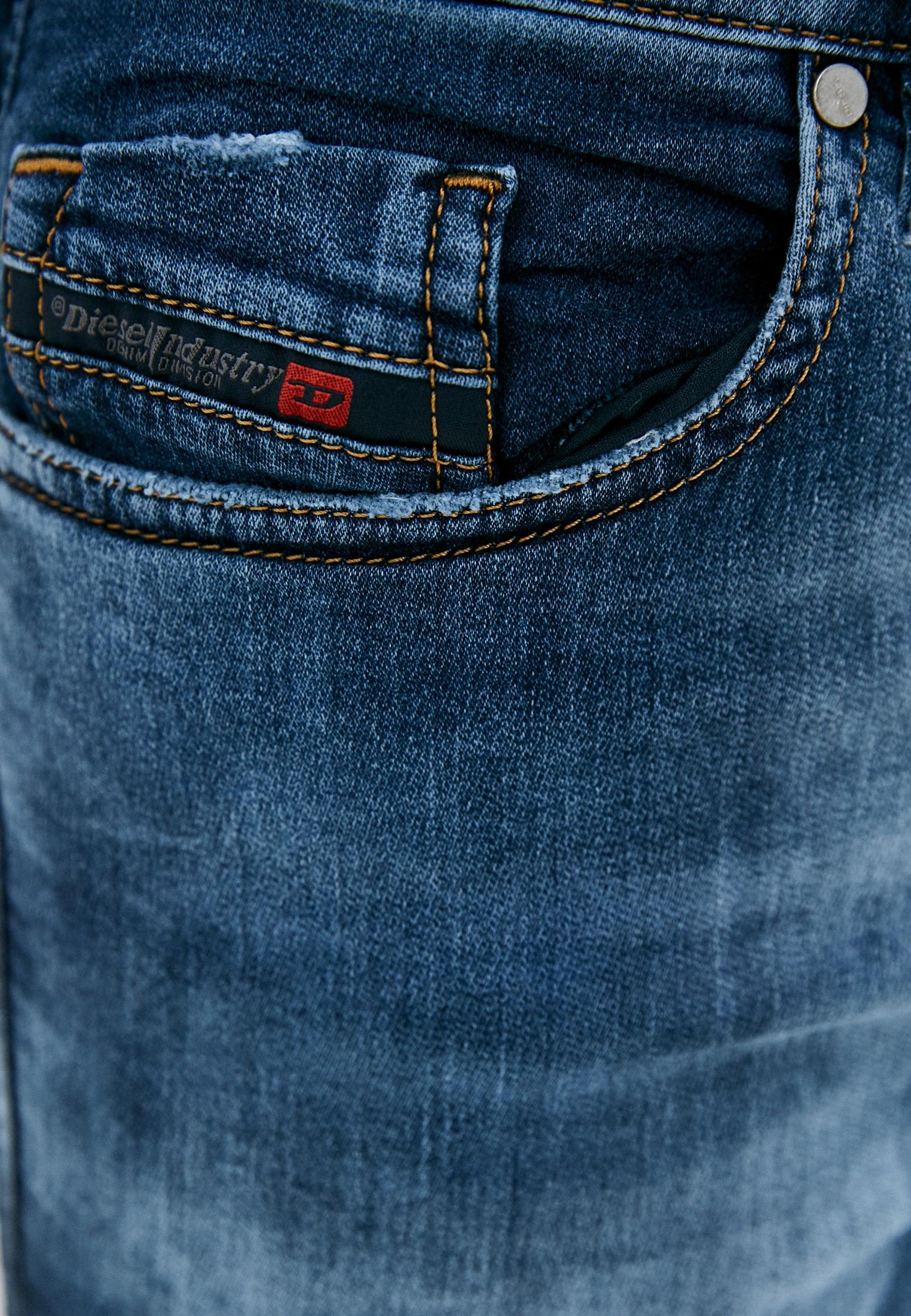 Мужские зауженные джинсы Diesel (Дизель) 00S8MK069AA: изображение 4