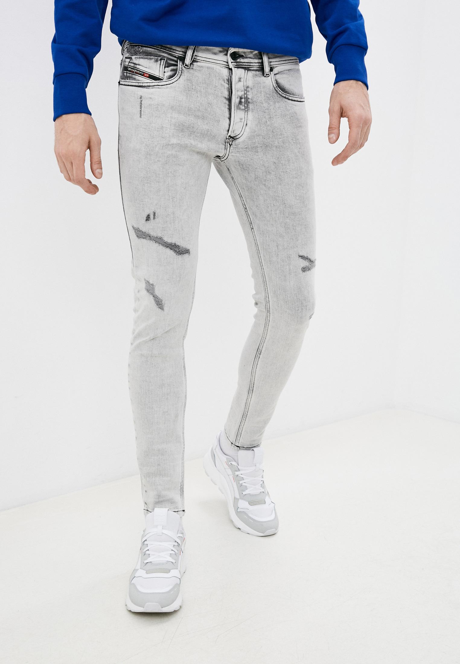 Мужские зауженные джинсы Diesel (Дизель) 00SWJE0090F