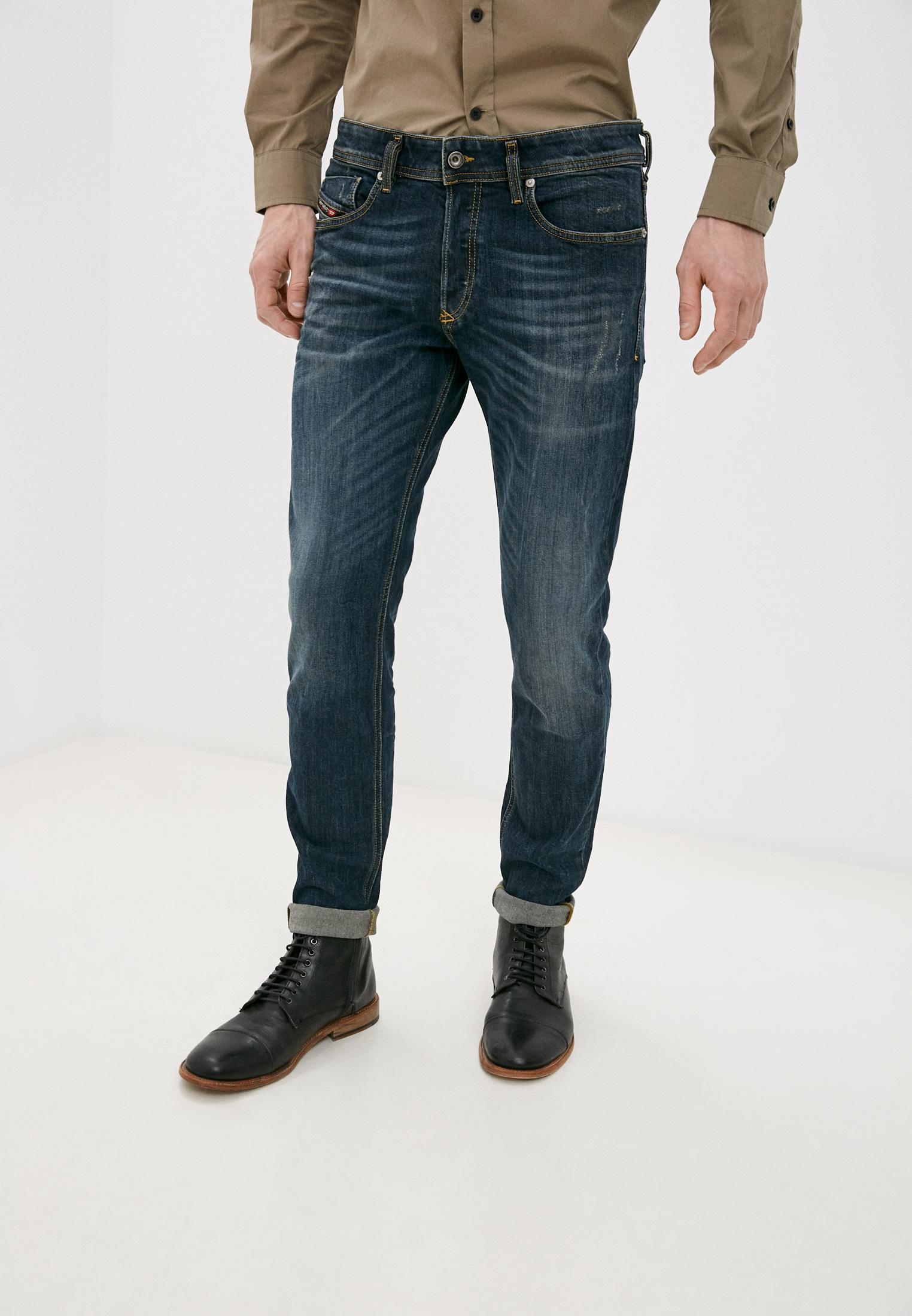 Мужские зауженные джинсы Diesel (Дизель) 00SWJF069GC