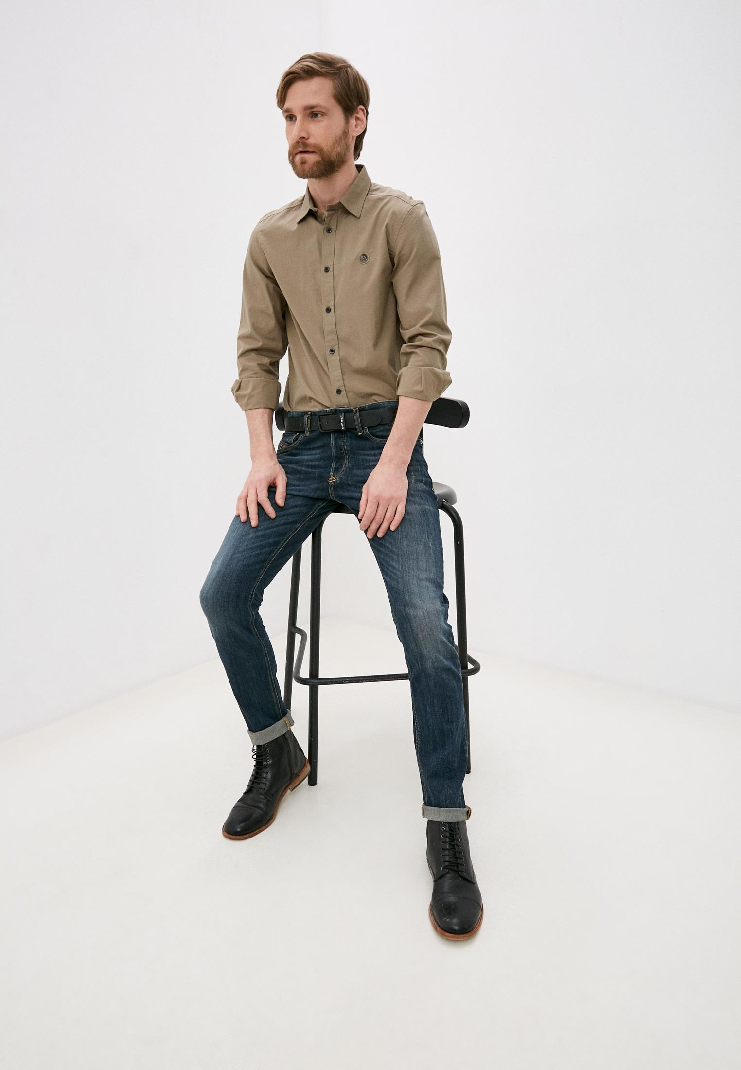 Мужские зауженные джинсы Diesel (Дизель) 00SWJF069GC: изображение 2