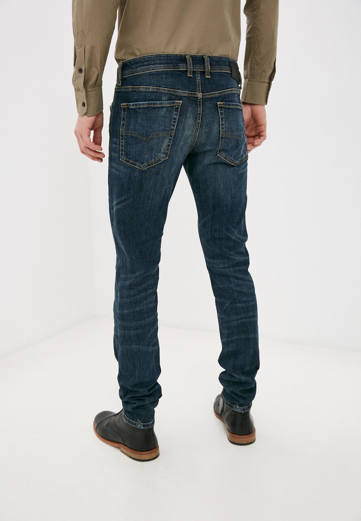 Мужские зауженные джинсы Diesel (Дизель) 00SWJF069GC: изображение 3