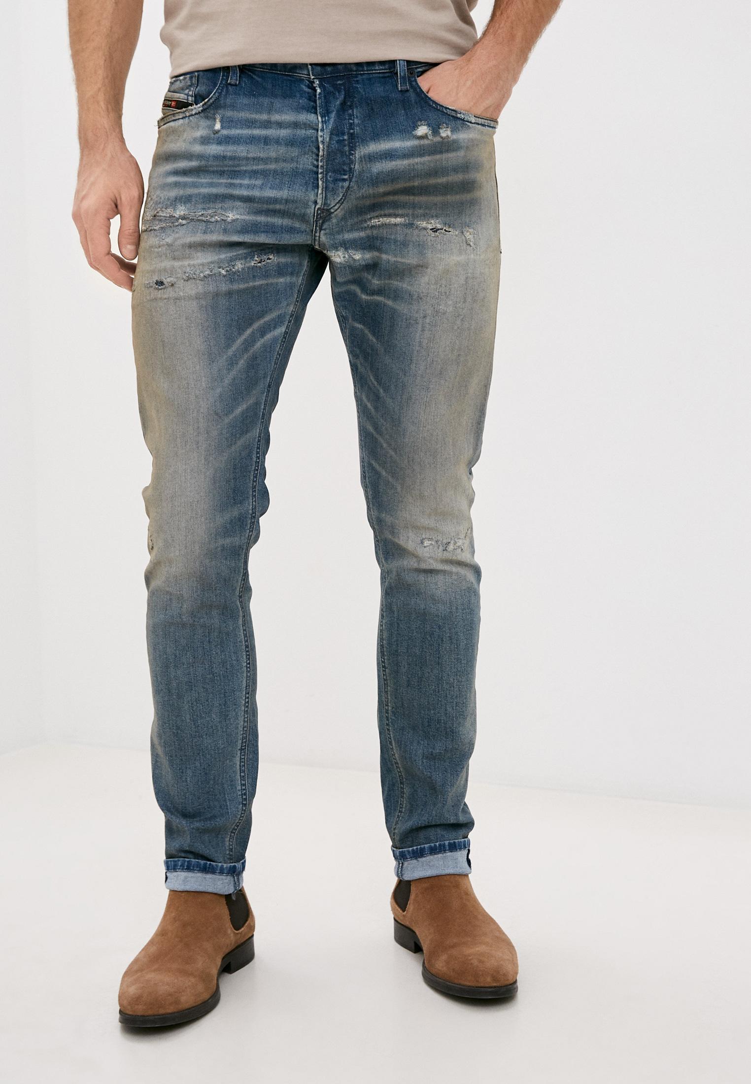 Мужские зауженные джинсы Diesel (Дизель) 00SWID084AQ