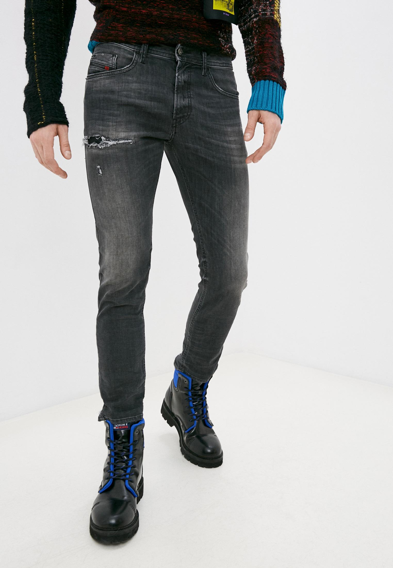 Мужские зауженные джинсы Diesel (Дизель) 00SW1P069DM