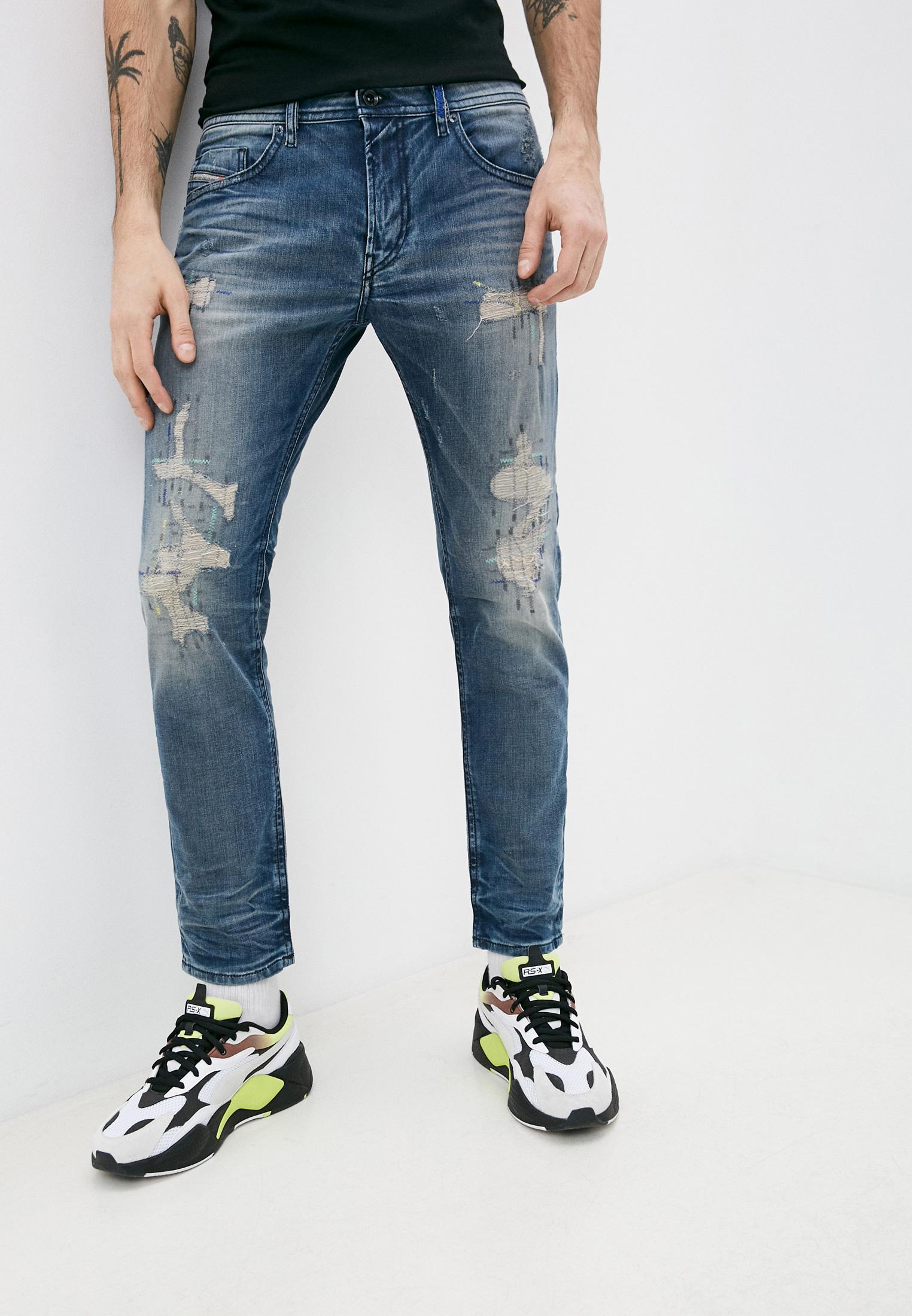 Мужские зауженные джинсы Diesel (Дизель) 00SW1P084DG