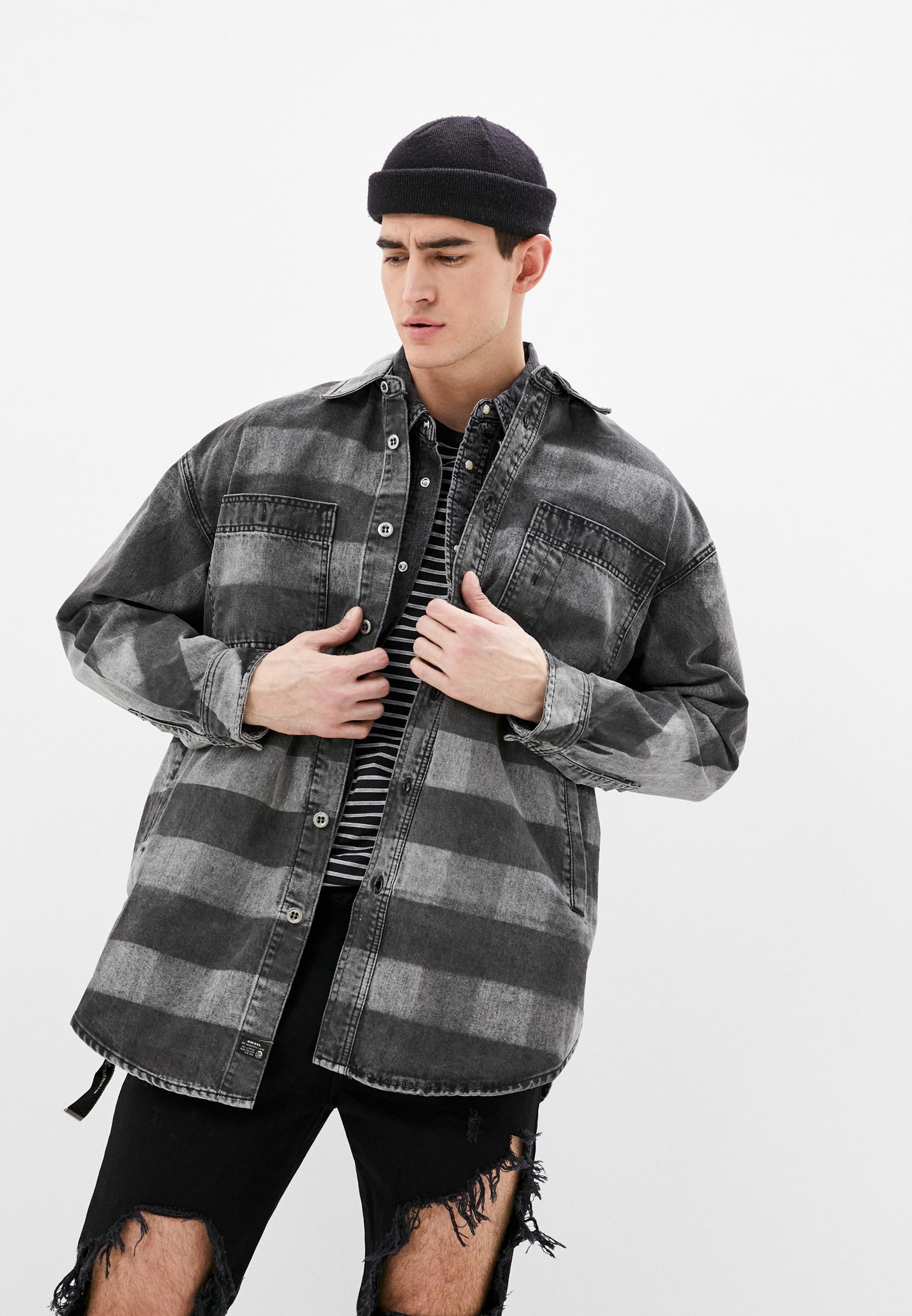 Джинсовая куртка Diesel (Дизель) 00SMWI0LATM