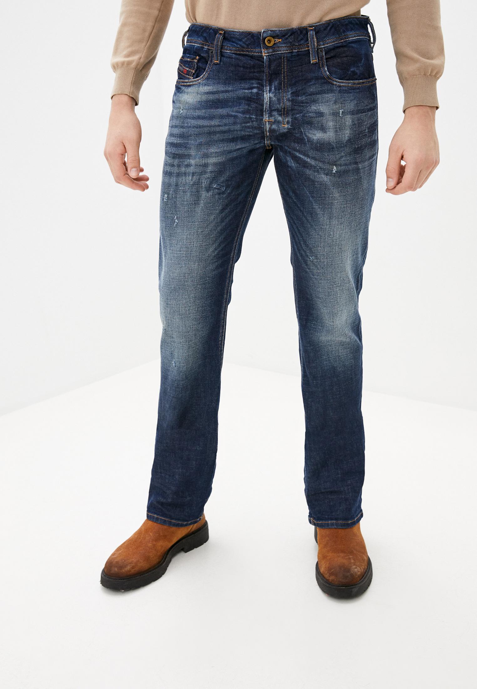 Мужские прямые джинсы Diesel (Дизель) 00ADS4087AT