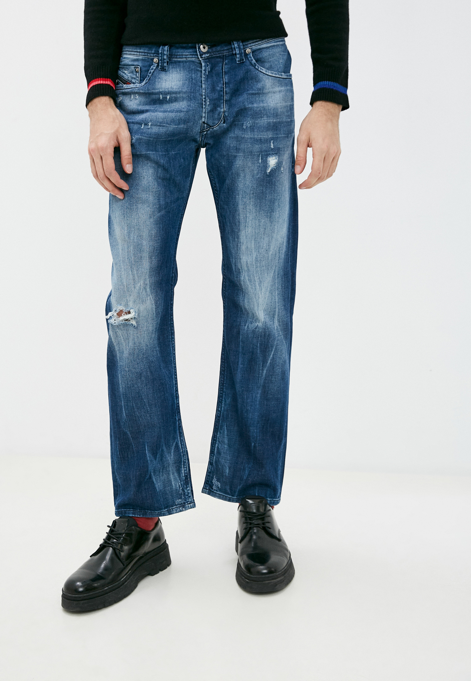 Мужские прямые джинсы Diesel (Дизель) 00C06PRM48X