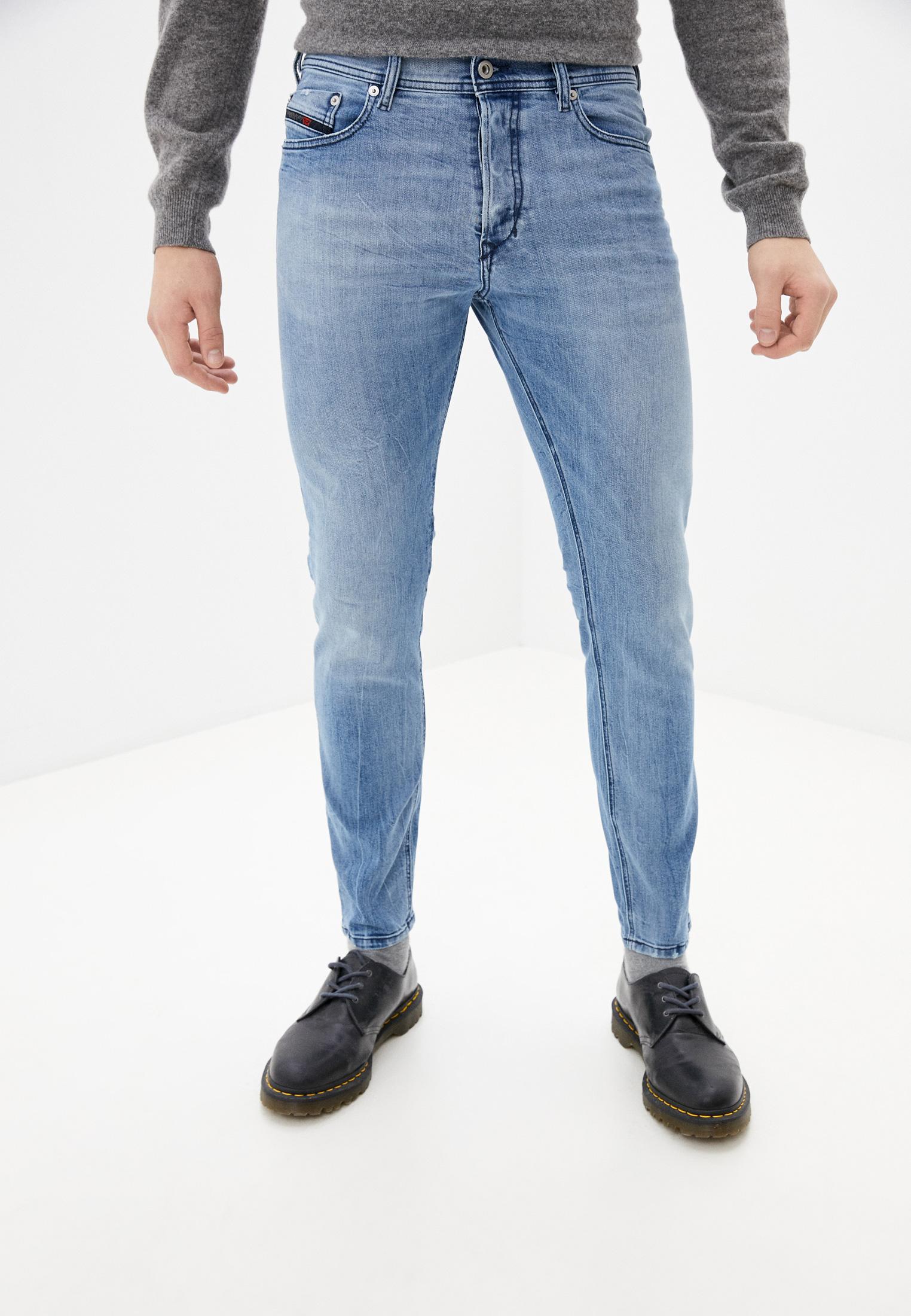 Мужские прямые джинсы Diesel (Дизель) 00CKRH081AL