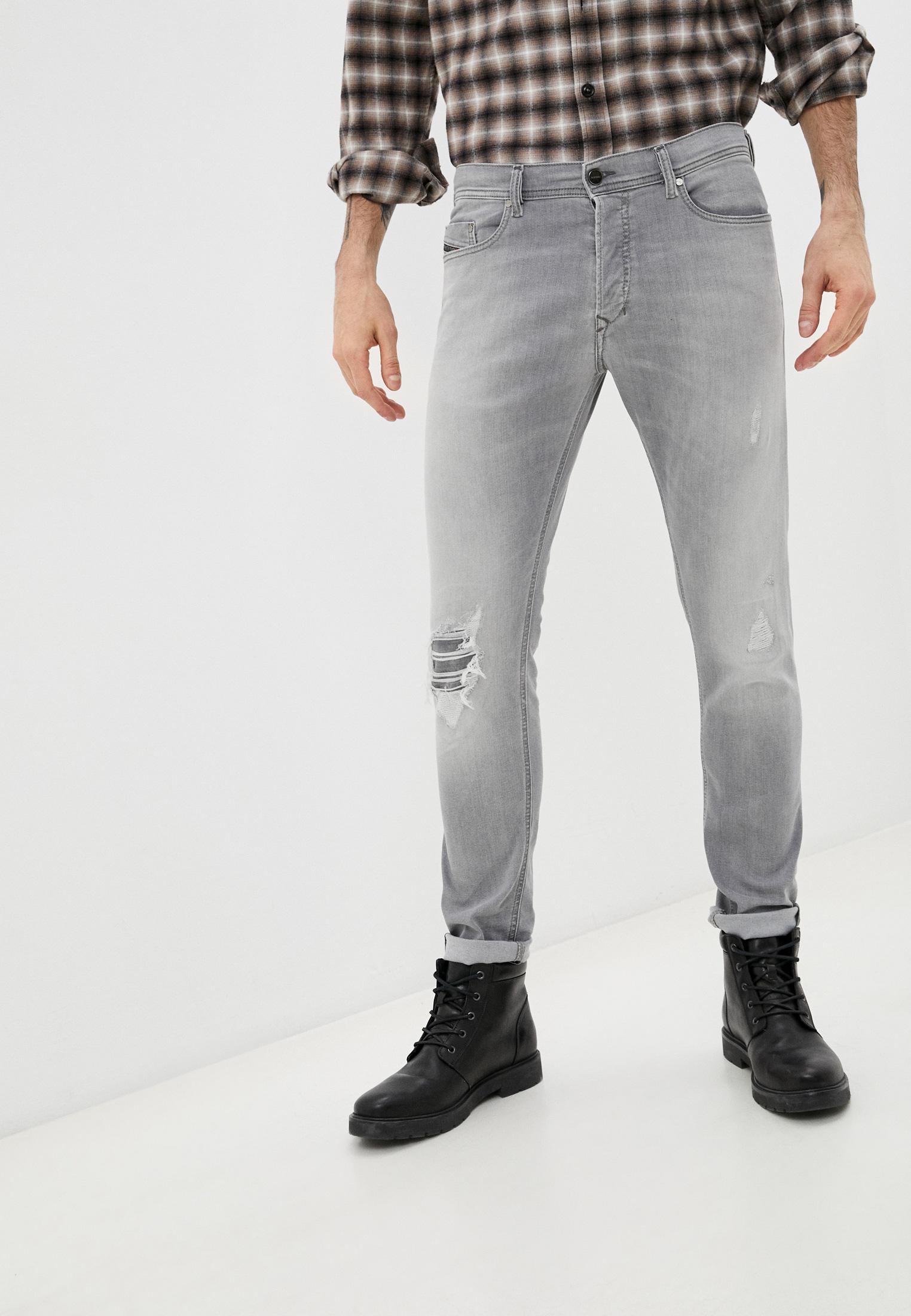 Мужские зауженные джинсы Diesel (Дизель) 00CKRI0687W