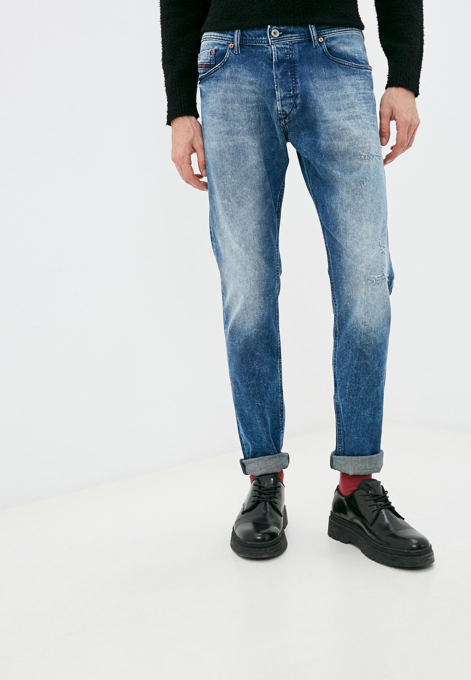 Мужские зауженные джинсы Diesel (Дизель) 00CKRI081AQ