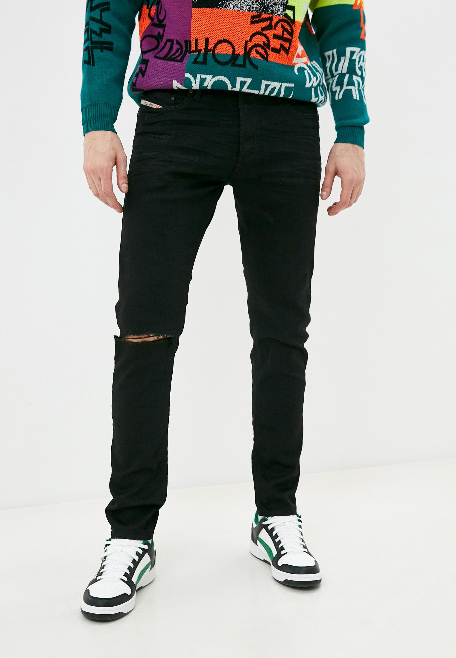 Мужские зауженные джинсы Diesel (Дизель) 00CKRI082AF