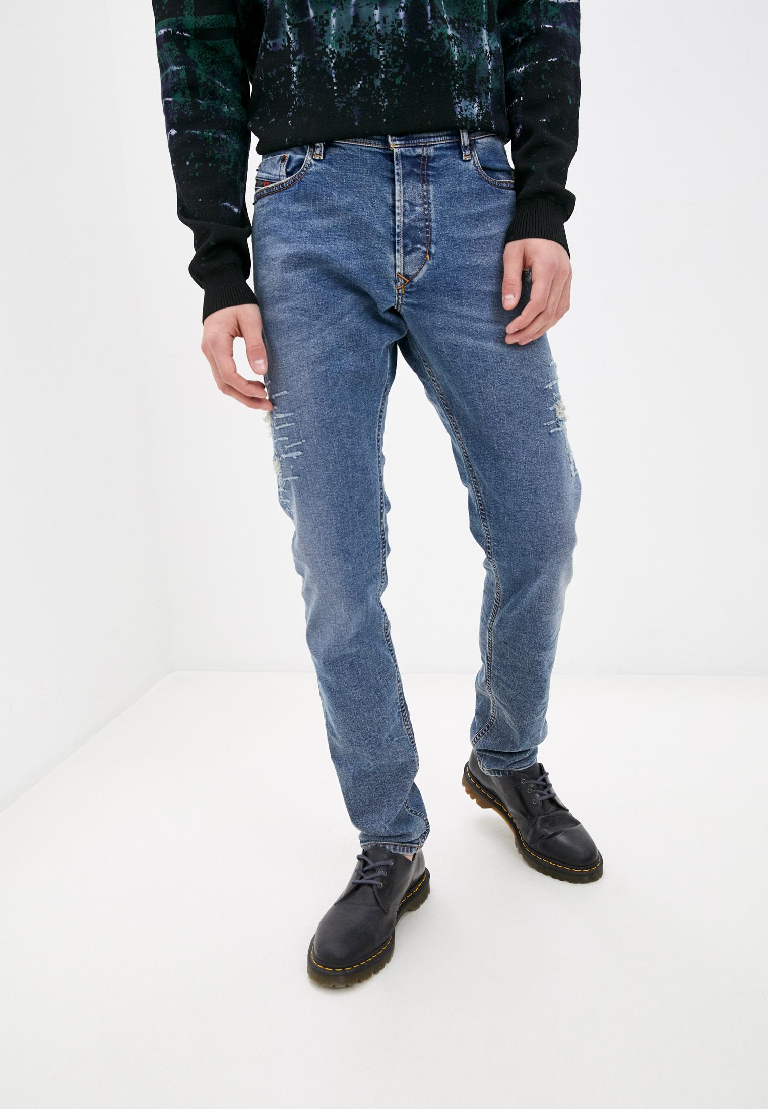 Мужские зауженные джинсы Diesel (Дизель) 00CKRJ080AC