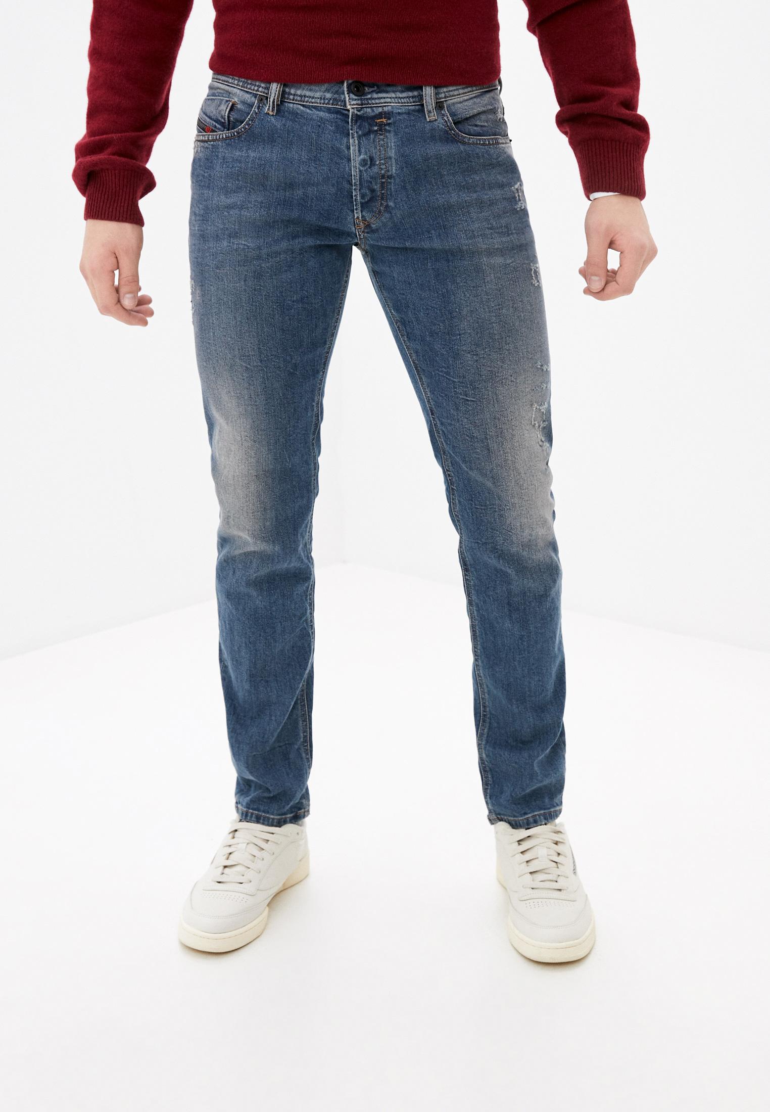 Мужские прямые джинсы Diesel (Дизель) 00S7VF069FI