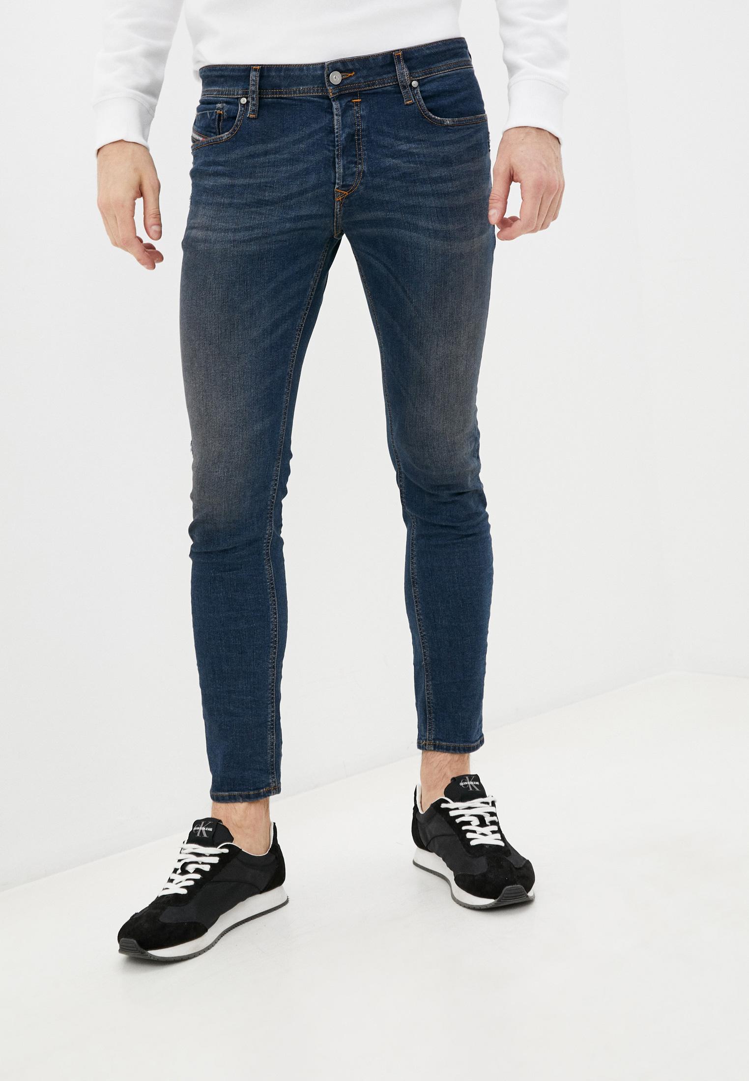 Мужские зауженные джинсы Diesel (Дизель) 00S7VF085AE