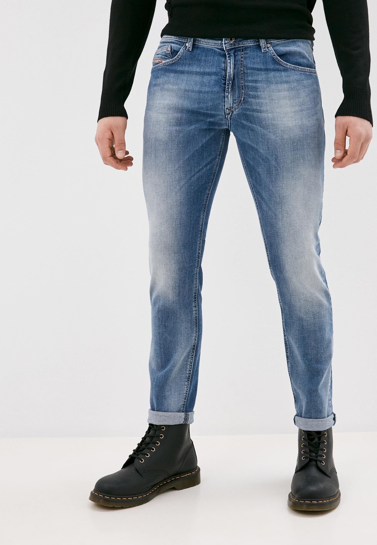 Мужские зауженные джинсы Diesel (Дизель) 00SECGR18W6