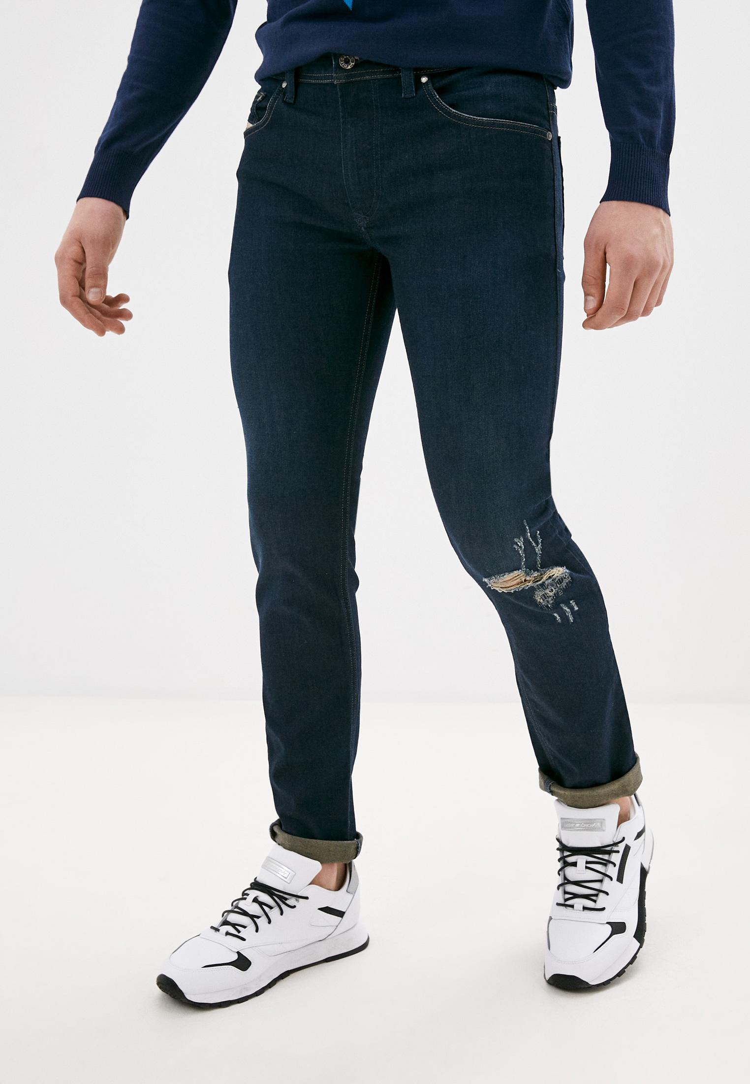 Мужские зауженные джинсы Diesel (Дизель) 00SECGR4LN8