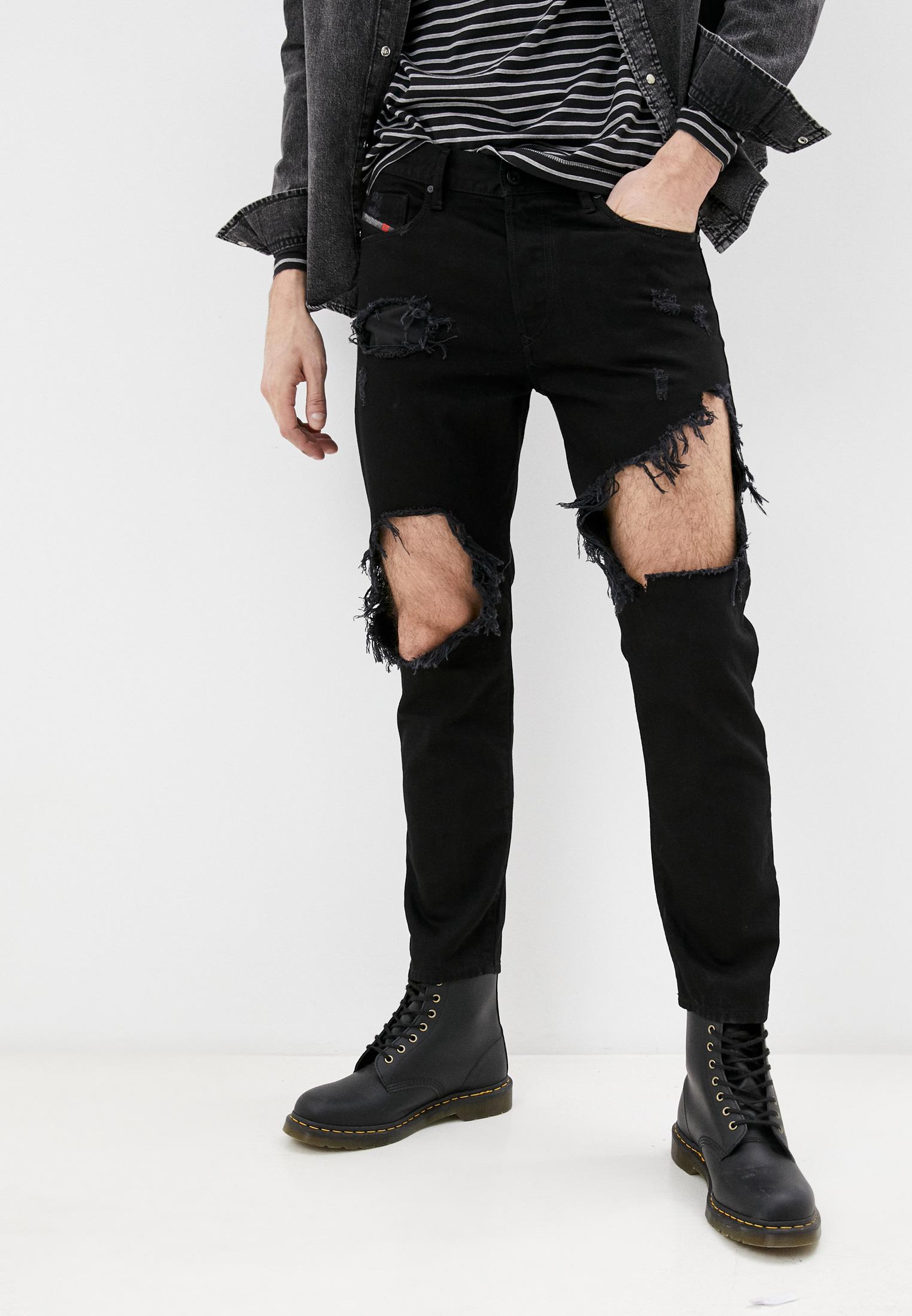 Мужские зауженные джинсы Diesel (Дизель) 00SH3Q084WR