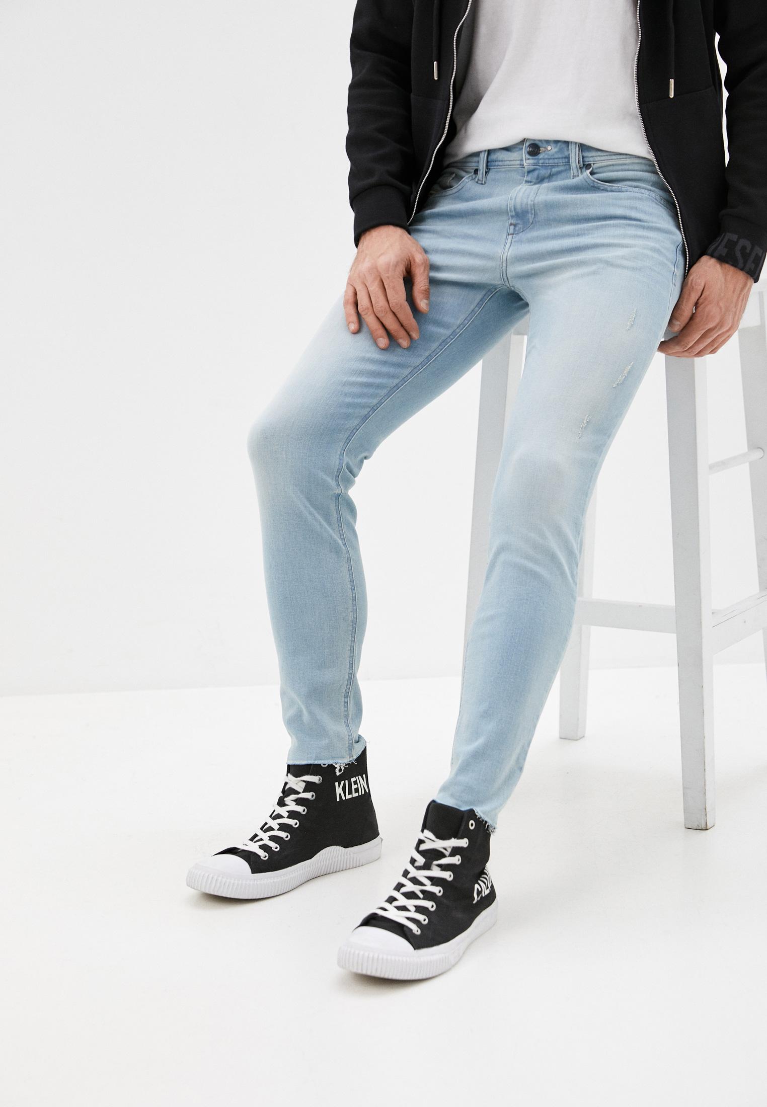 Мужские зауженные джинсы Diesel (Дизель) 00SIV6084EC