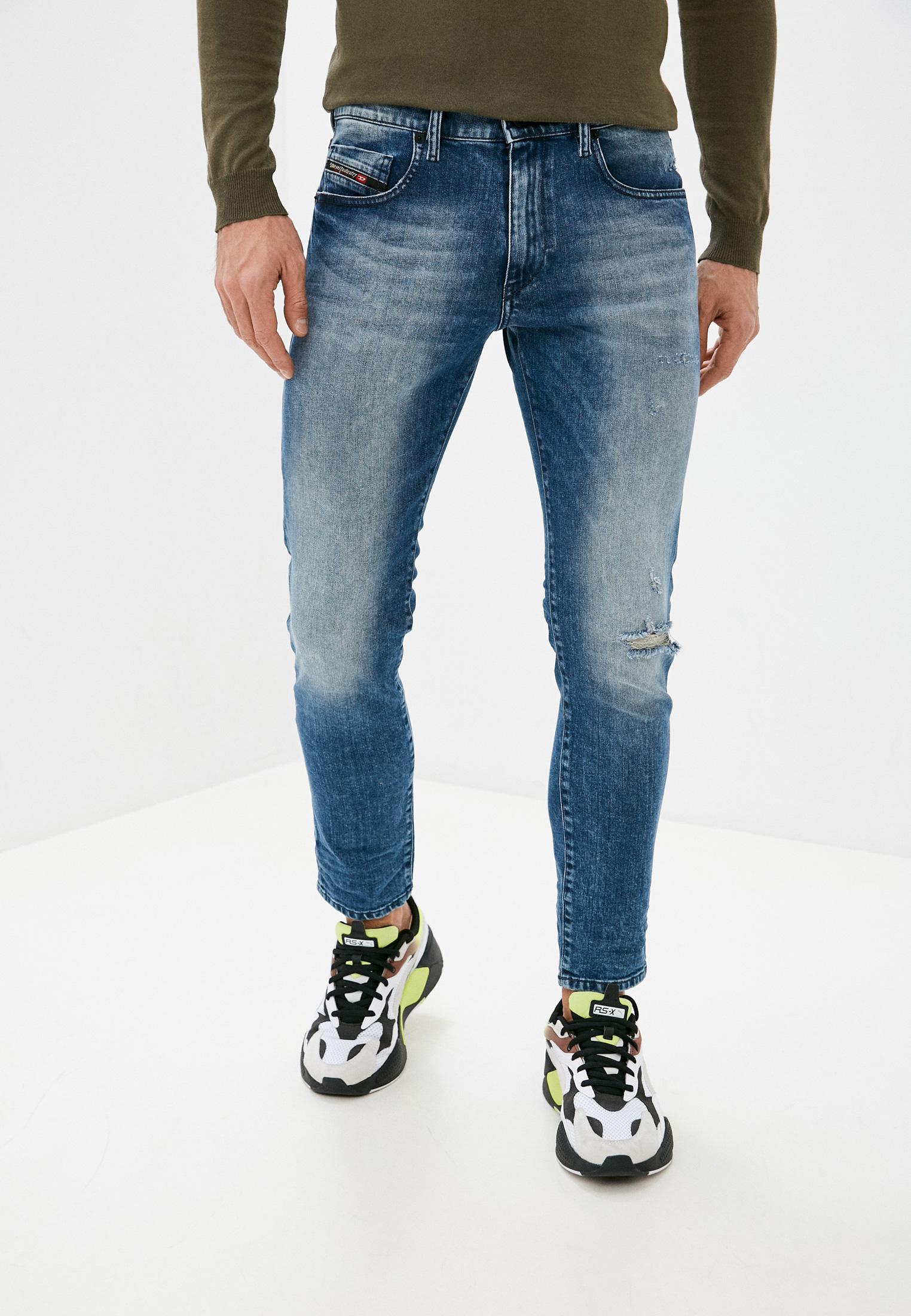Мужские зауженные джинсы Diesel (Дизель) 00SPW4081AQ