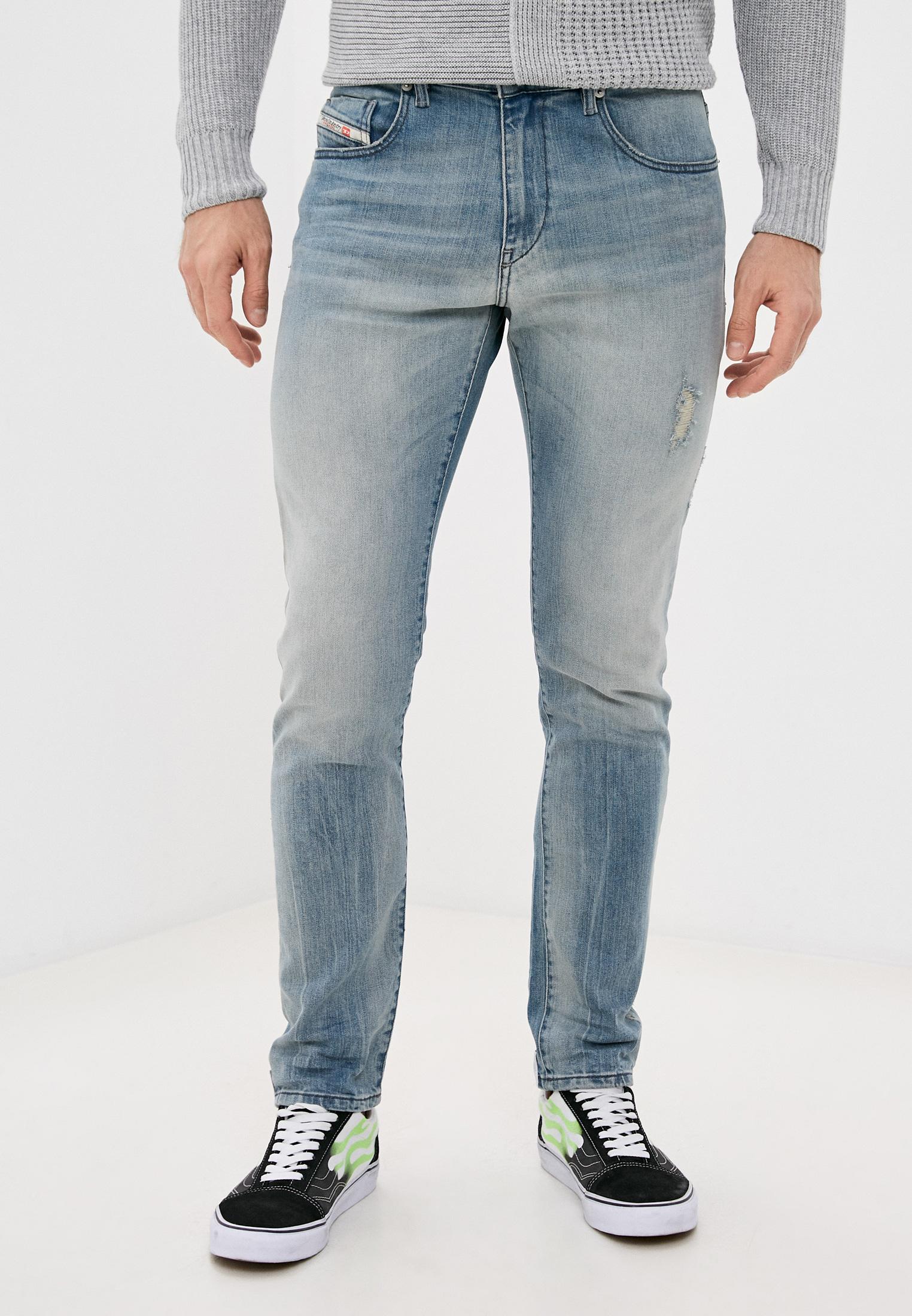 Мужские зауженные джинсы Diesel (Дизель) 00SPW5081AP