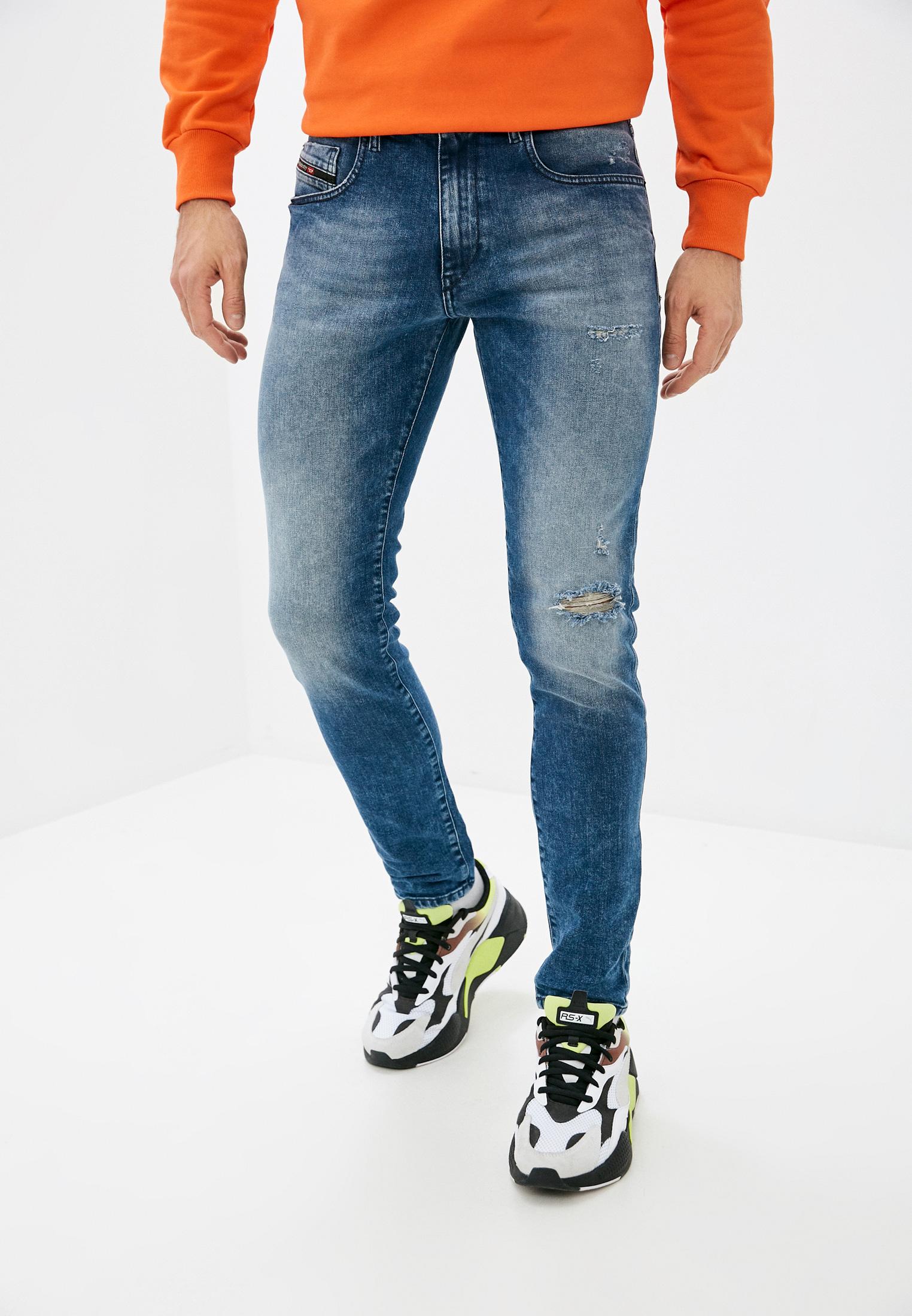 Мужские зауженные джинсы Diesel (Дизель) 00SPW5081AQ