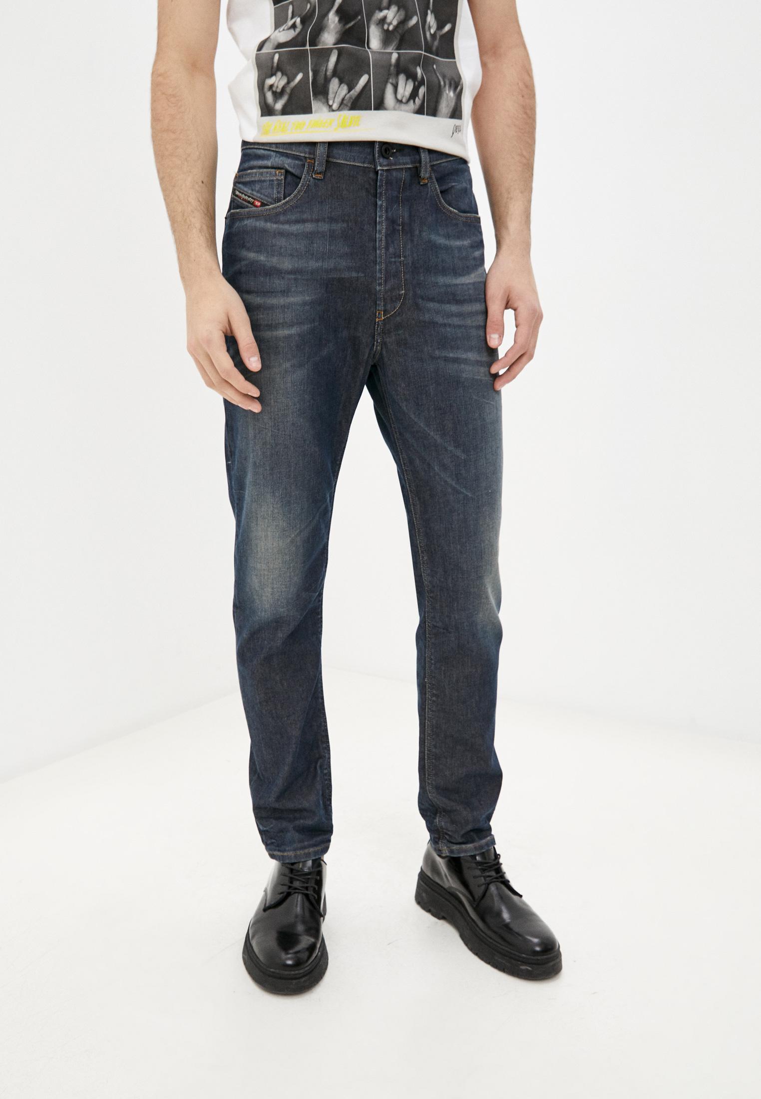 Мужские зауженные джинсы Diesel (Дизель) 00SQLZ084ZU