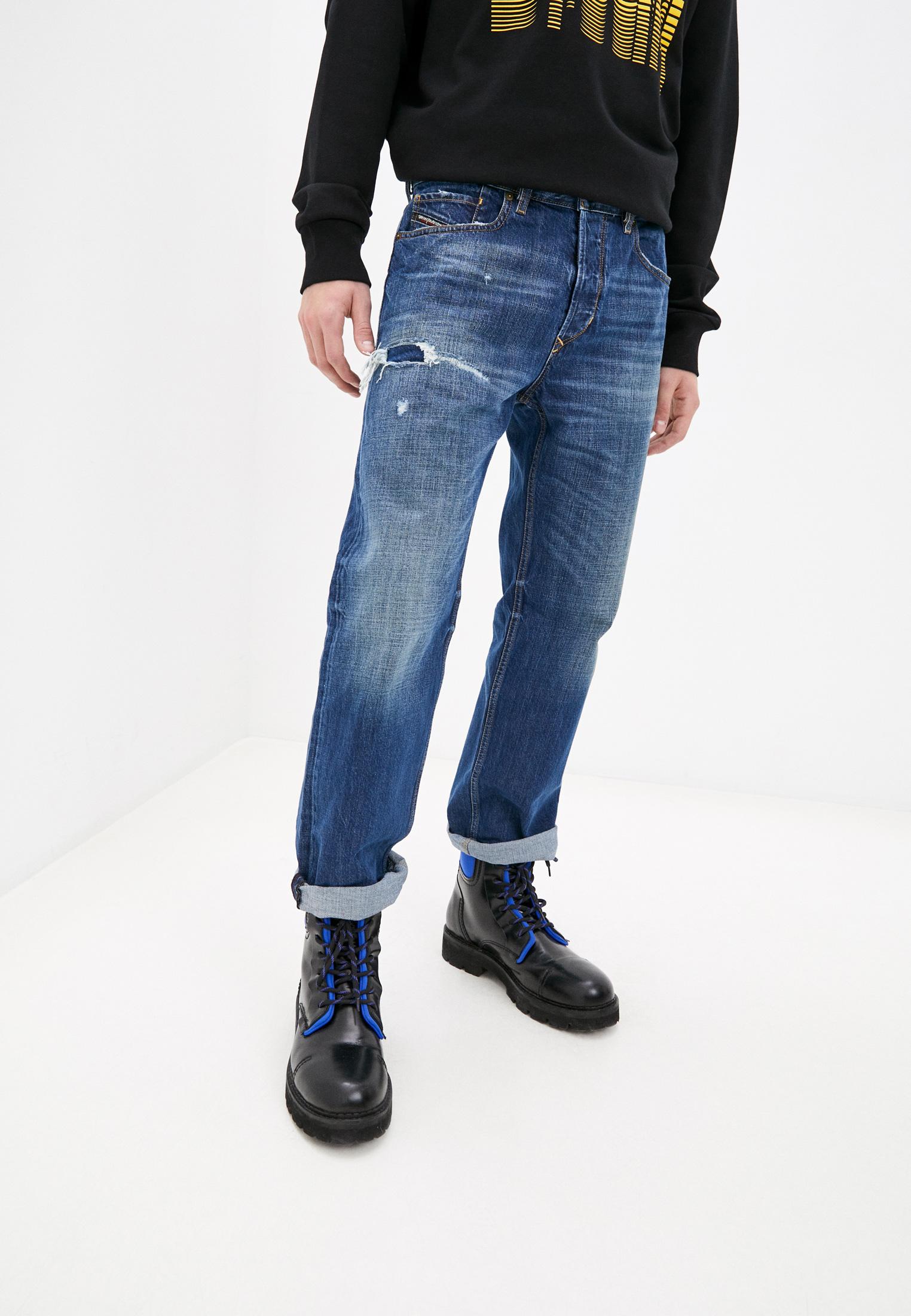 Мужские прямые джинсы Diesel (Дизель) 00SSLE080AH