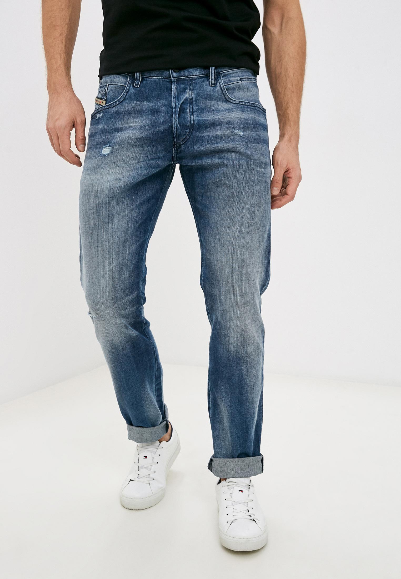 Мужские прямые джинсы Diesel (Дизель) 00SSLM084DD