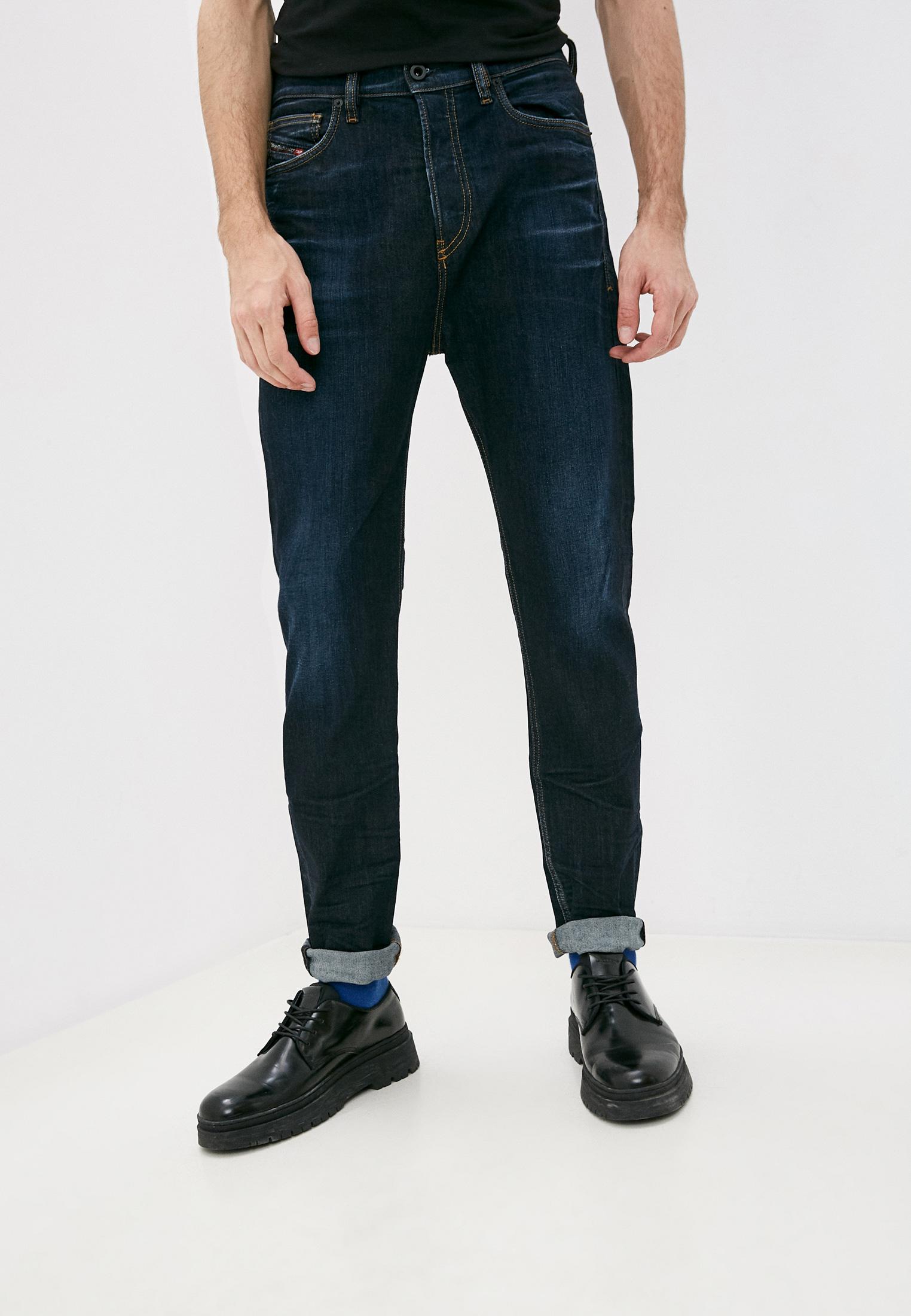 Мужские зауженные джинсы Diesel (Дизель) 00SSQ4081AT