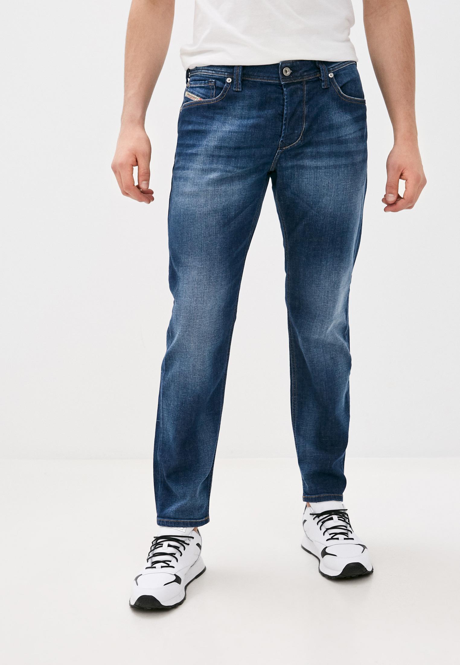 Мужские зауженные джинсы Diesel (Дизель) 00SU1W084GR