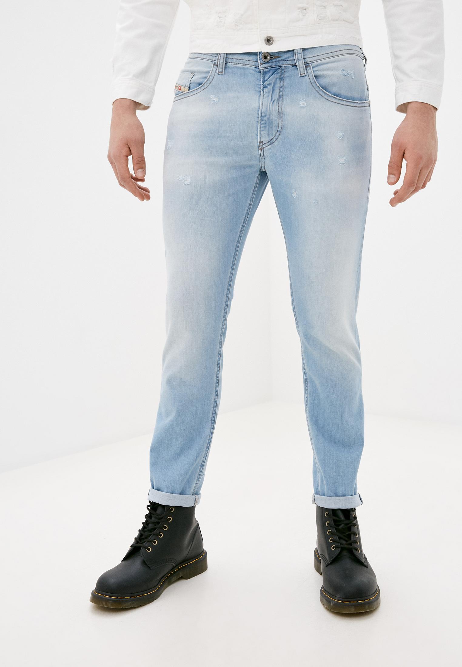 Мужские зауженные джинсы Diesel (Дизель) 00SW1P081AR