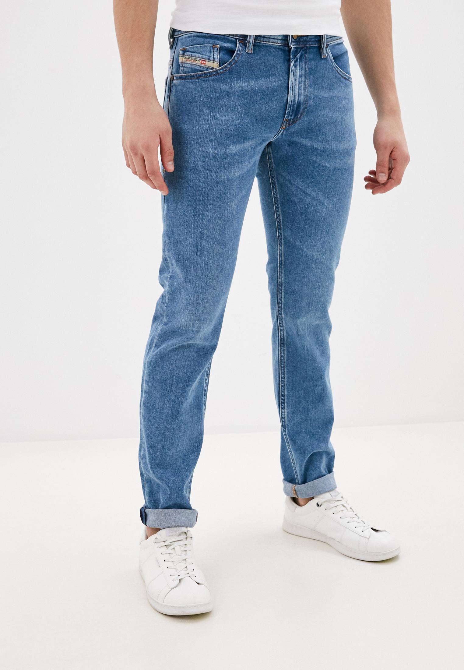Мужские зауженные джинсы Diesel (Дизель) 00SW1R087AR