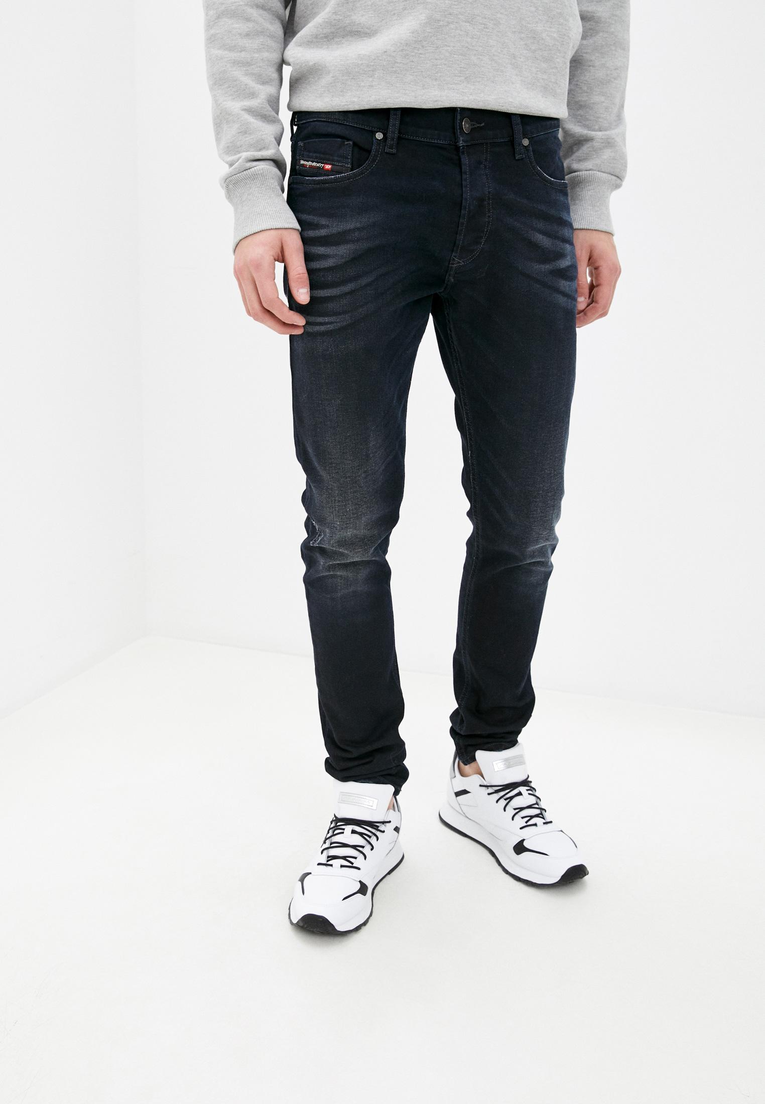 Мужские зауженные джинсы Diesel (Дизель) 00SWID0679R