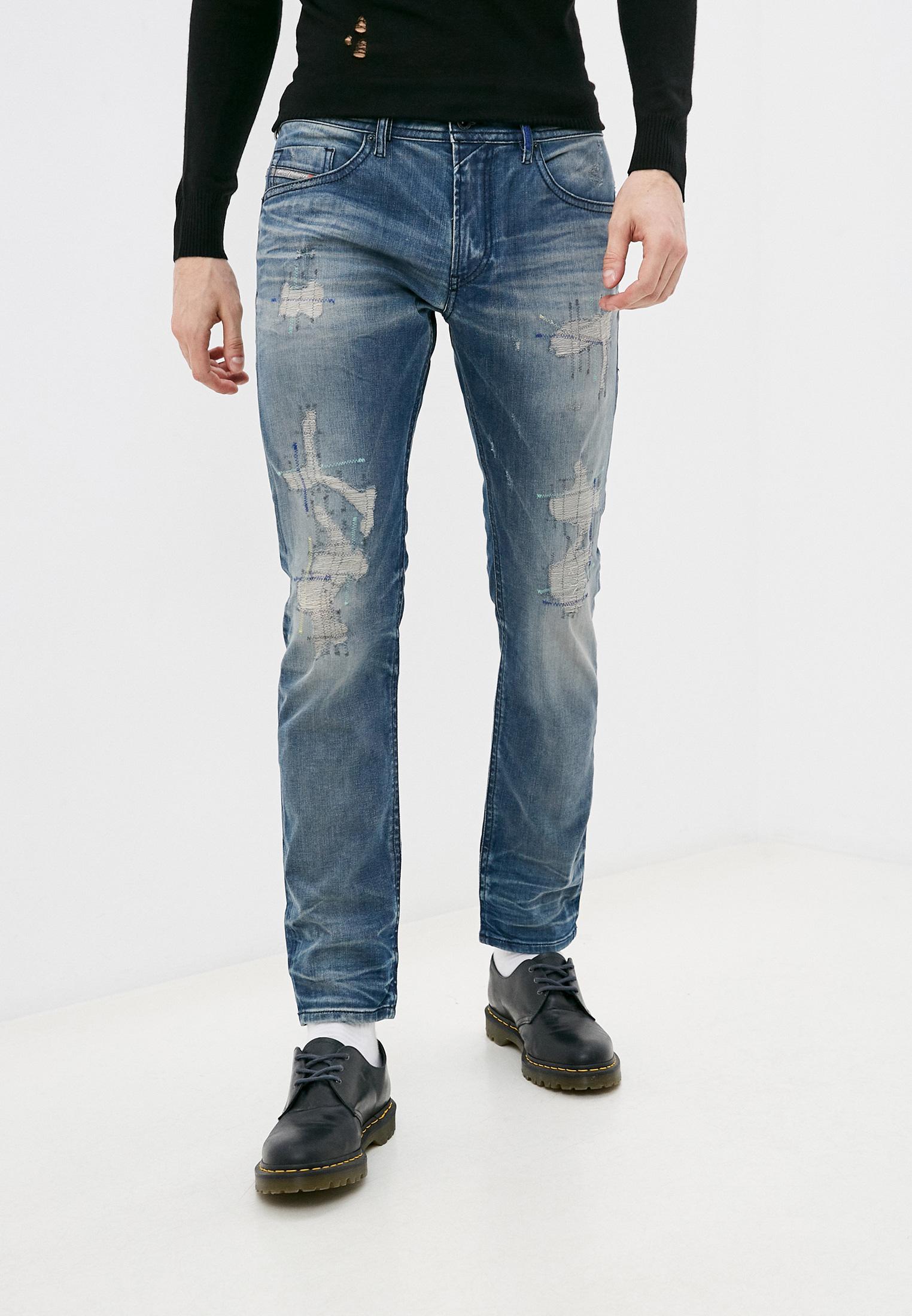 Мужские зауженные джинсы Diesel (Дизель) 00SW1Q084DG