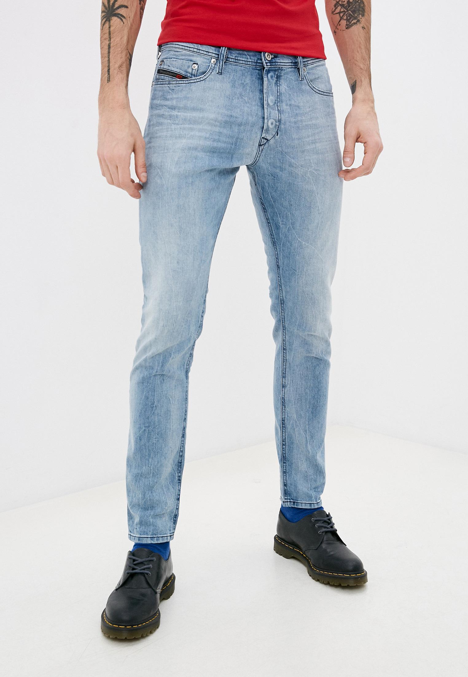 Мужские зауженные джинсы Diesel (Дизель) 00CKRI081AL