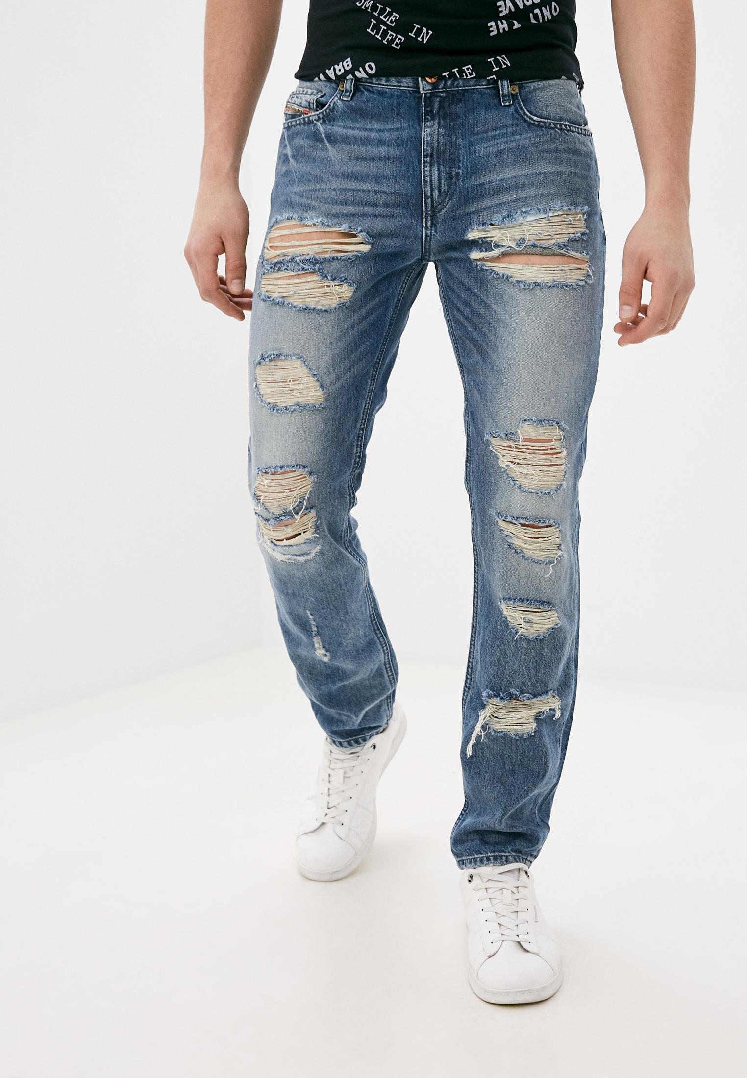 Мужские зауженные джинсы Diesel (Дизель) 00SD3VR046U