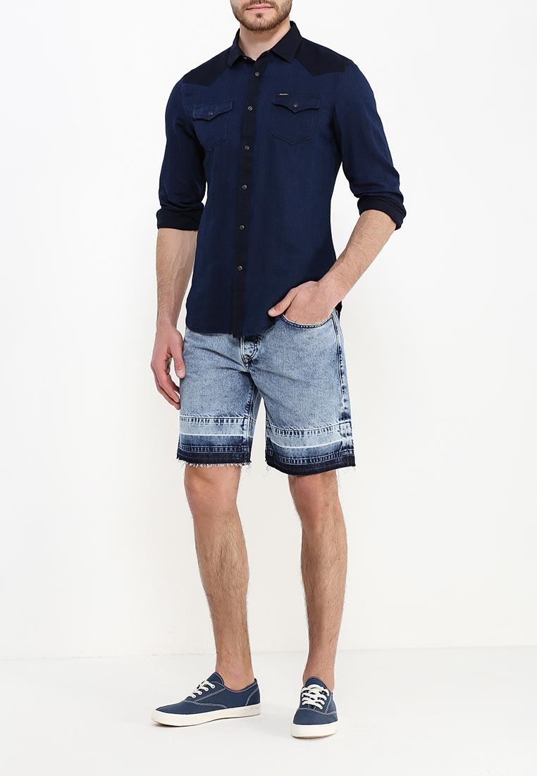 Мужские джинсовые шорты Diesel (Дизель) 00SQ3K.0852K: изображение 2