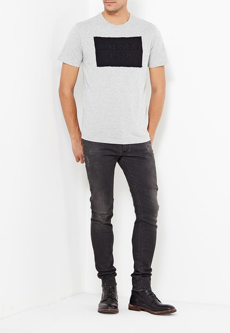 Зауженные джинсы Diesel (Дизель) 00S7VG.0676P: изображение 2