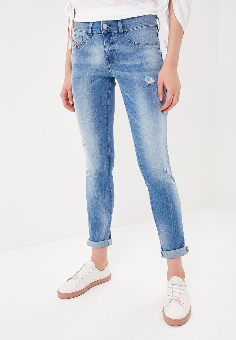 Прямые джинсы Diesel (Дизель) 00S8ML084QI
