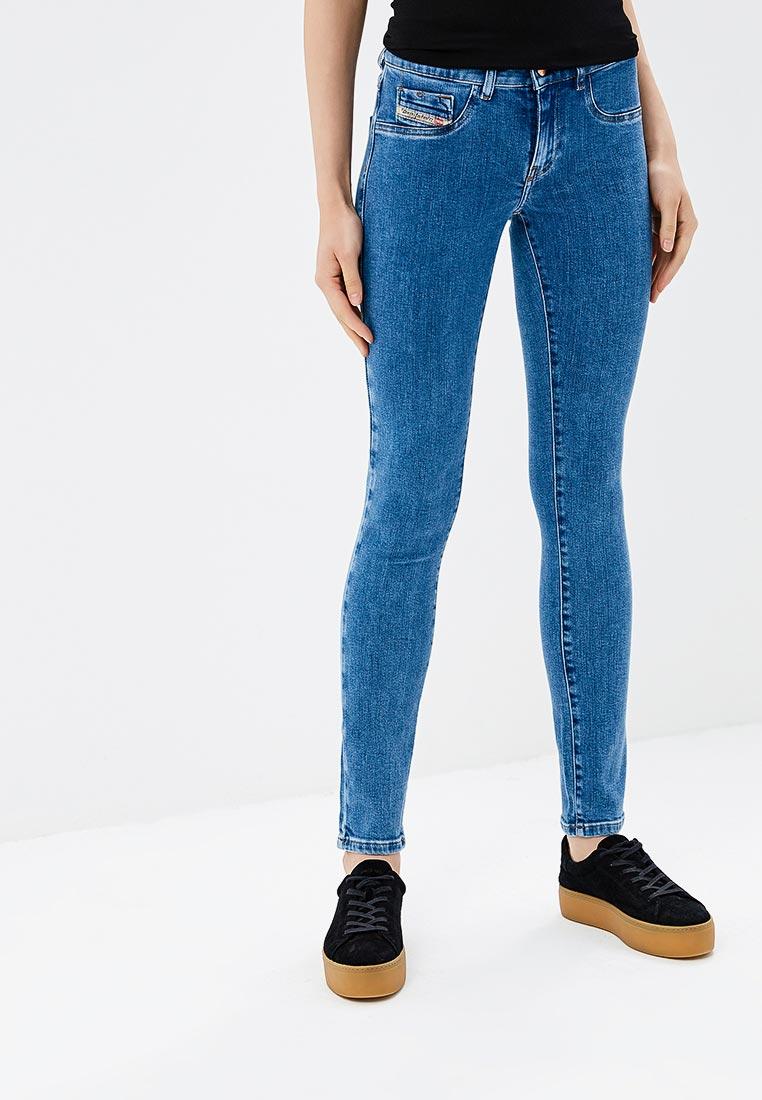 Зауженные джинсы Diesel (Дизель) 00S8ML084VT