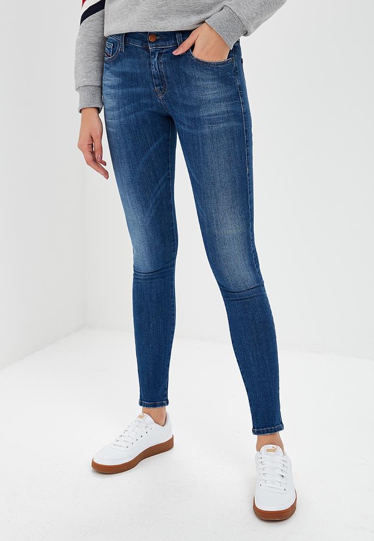 Зауженные джинсы Diesel (Дизель) 00SXJN0826F